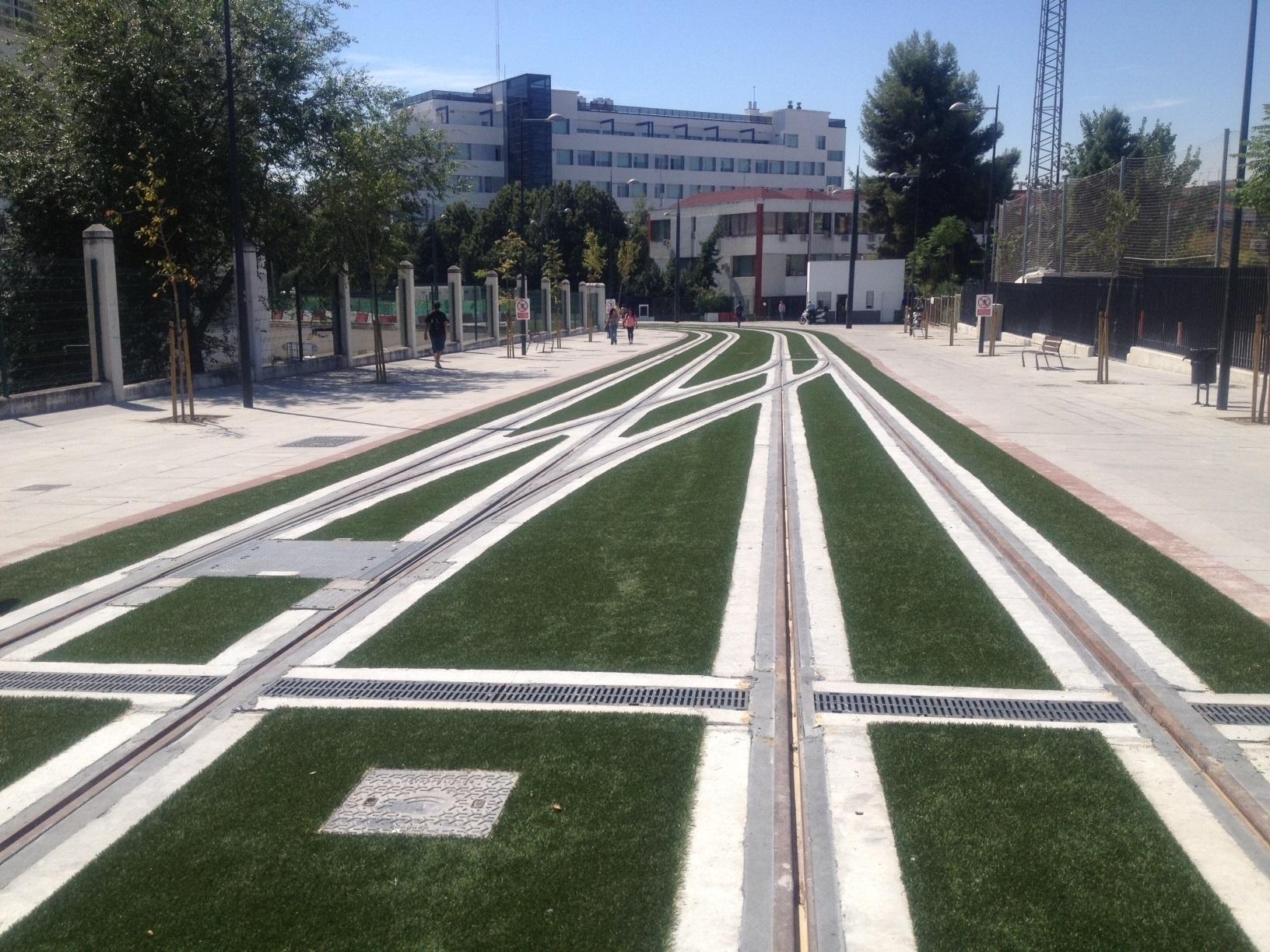 Concluye la ejecución de la plataforma y las vías del Metro entre Villarejo y la Avenida de los Andaluces