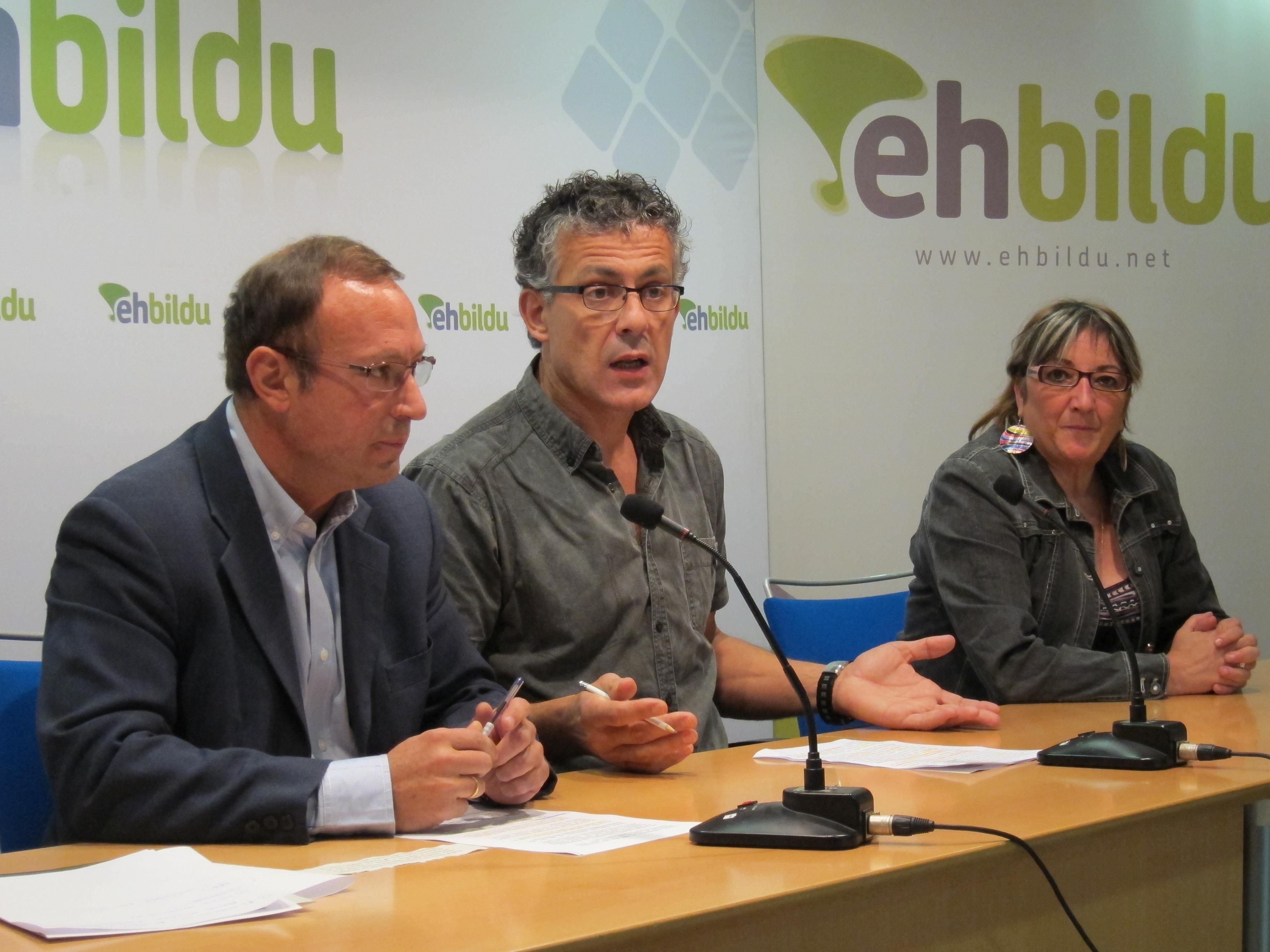 EH Bildu asegura que Cataluña y Euskadi deben recorrer el camino hacia la «soberanía plena»