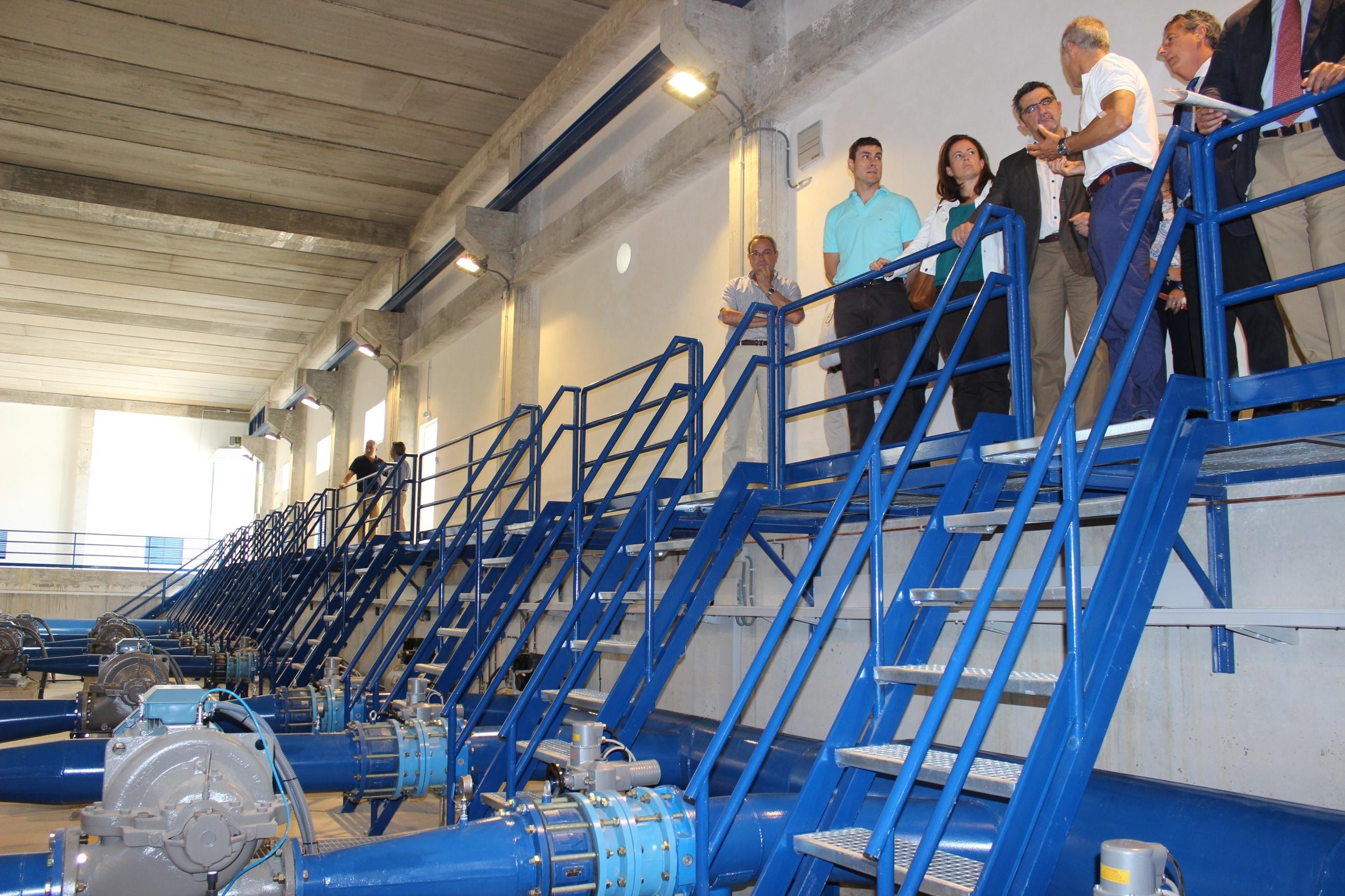 Emasesa construye una nueva estación de bombeo en Alcalá de Guadaíra