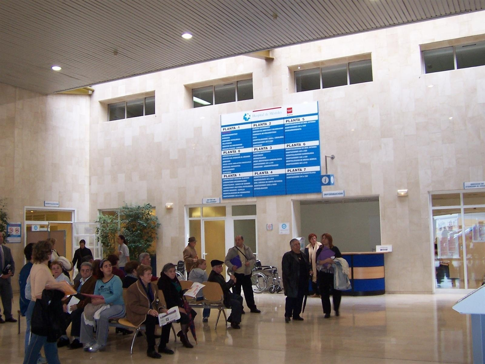 El Hospital de Móstoles realiza su servicio con normalidad después del corte del suministro eléctrico ocurrido el martes