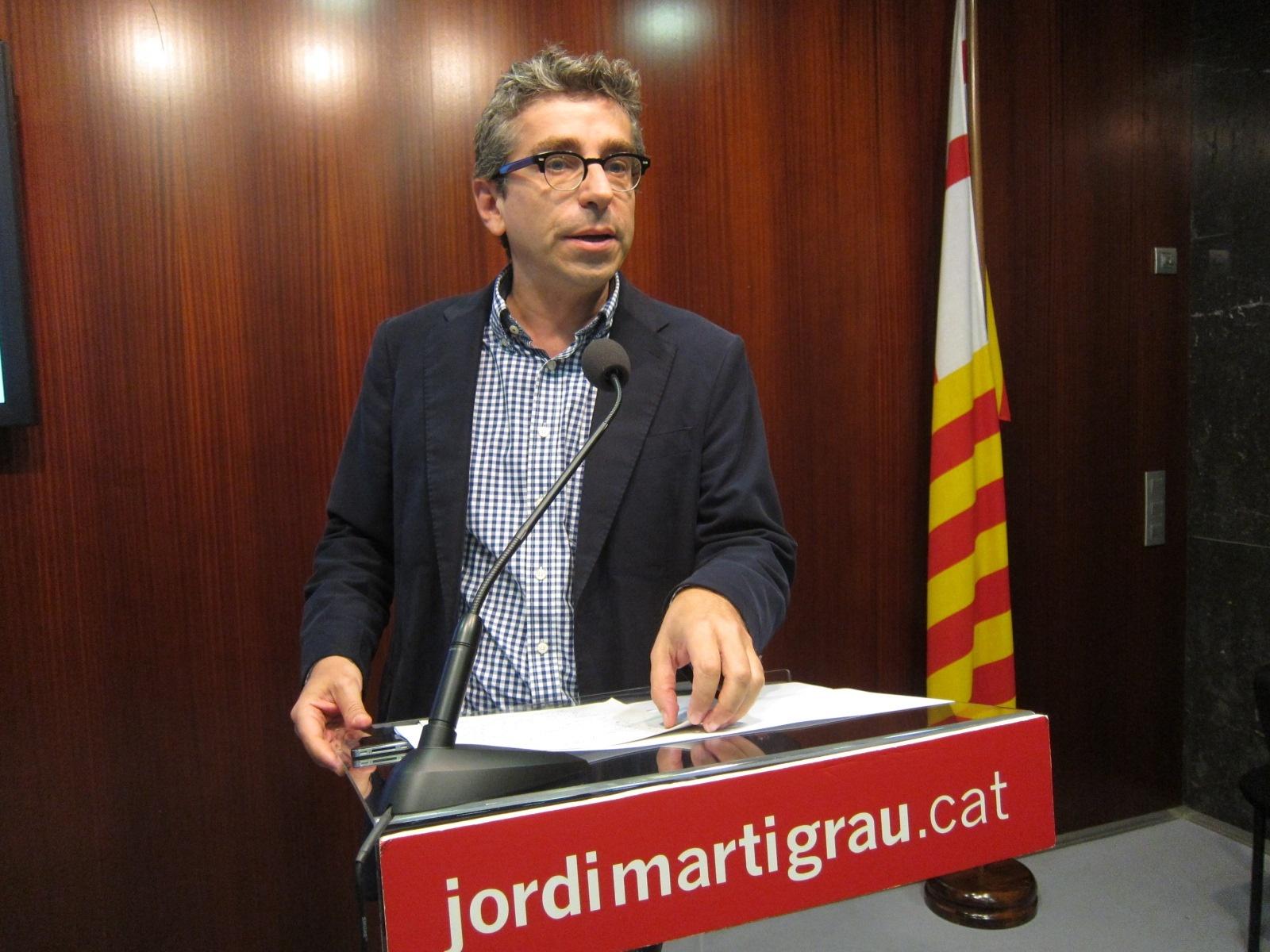 Jordi Martí (PSC) pide una consulta en Barcelona y Pirineo antes de dos meses