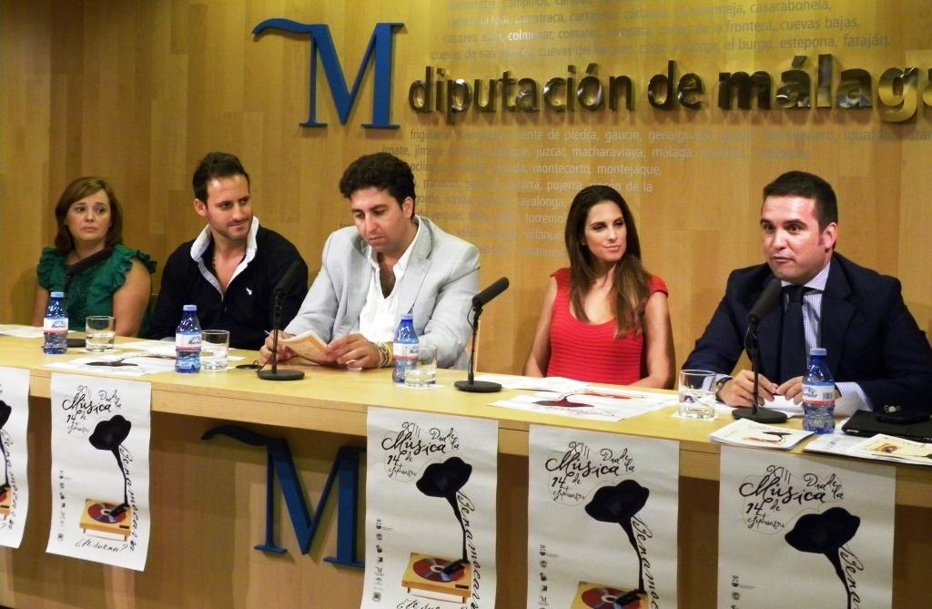 Nuria Fergó pronunciará el pregón de la XIII edición del Día de la Música de Benamocarra este sábado