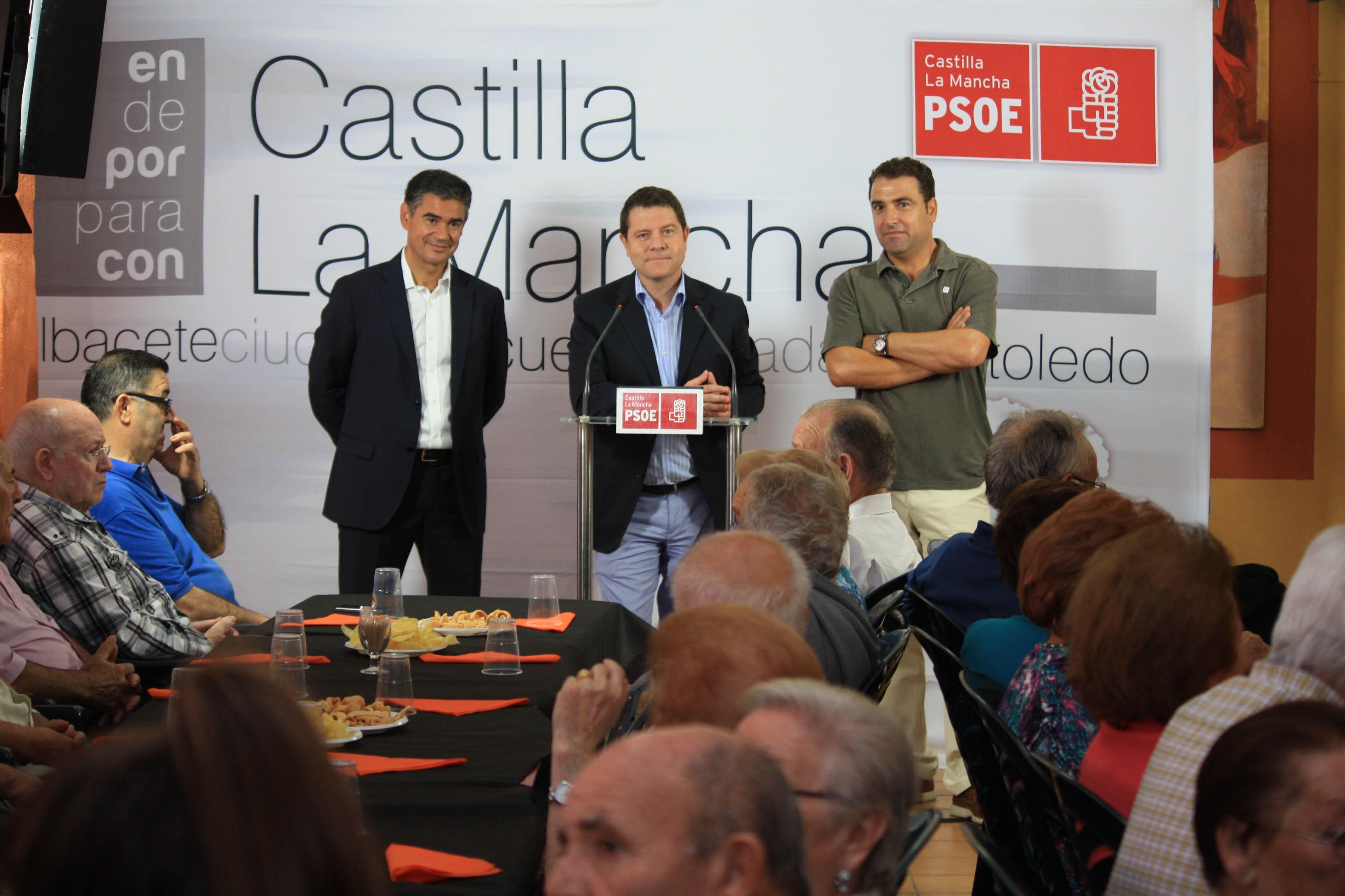 PSOE C-LM está dispuesto a ir a los tribunales para evitar la privatización de la sanidad como sus compañeros de Madrid