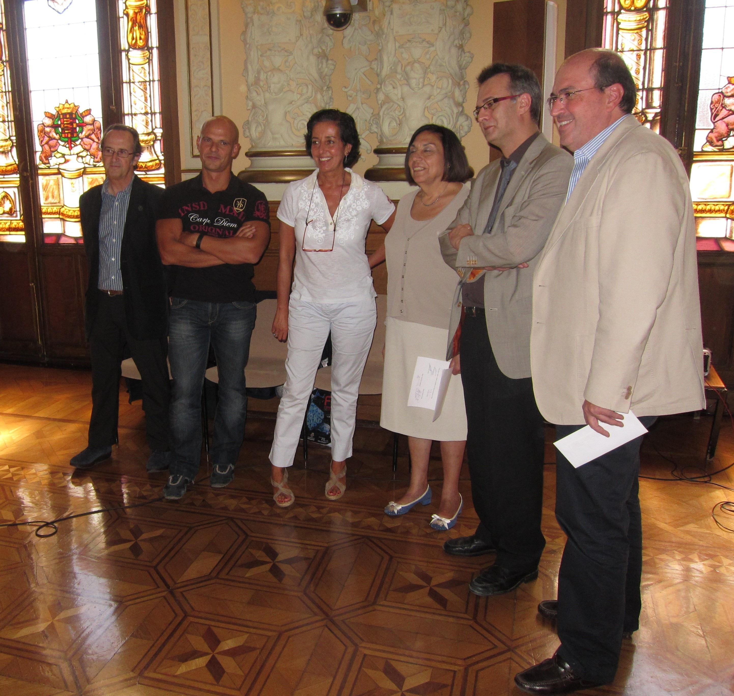 El periodista y escritor Pemón Bouzas, ganador del Premio de Novela Ciudad de Valladolid con »El Espíritu del Aire»