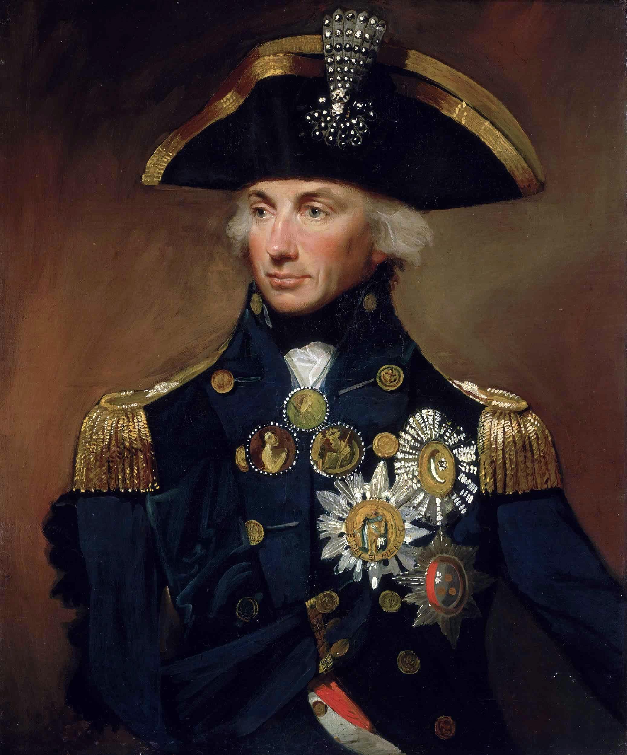 Warner llevará al cine la vida del almirante Nelson