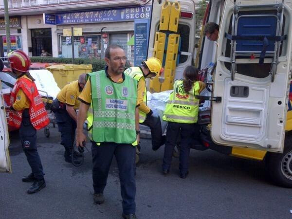 Seis heridos, tres de ellos en estado crítico, tras una explosión en una tienda de productos de cannabis en Madrid
