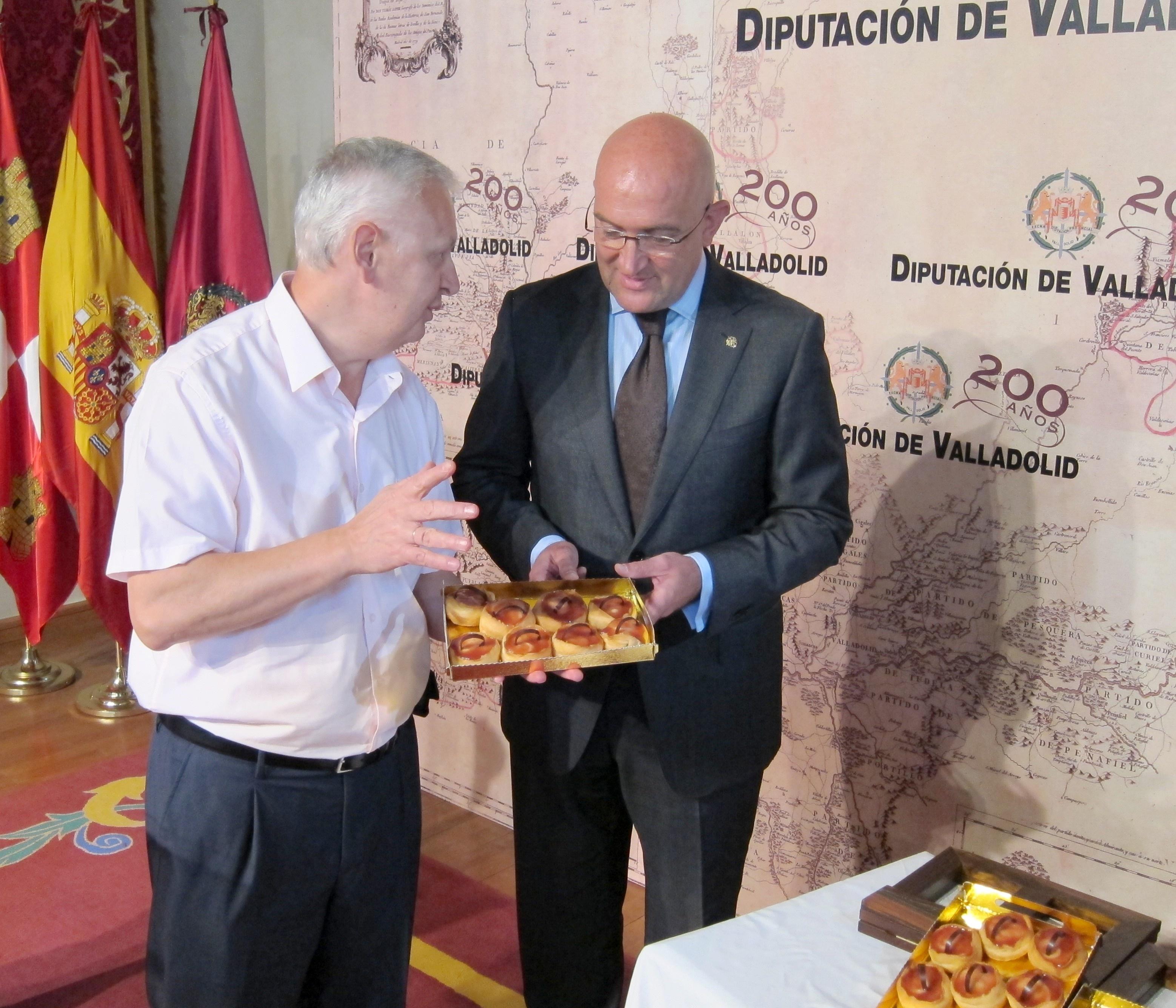 Unas puertas abiertas inauguran los actos centrales del Día de la Provincia de Valladolid, que se celebra este sábado
