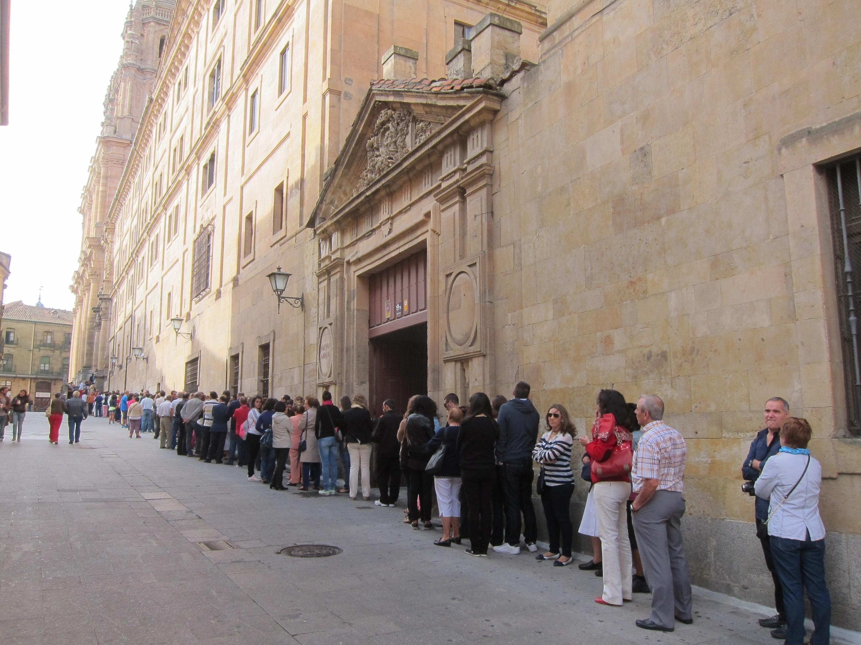 Más de 17.000 personas participaron en la Jornada de Puertas Abiertas de Salamanca