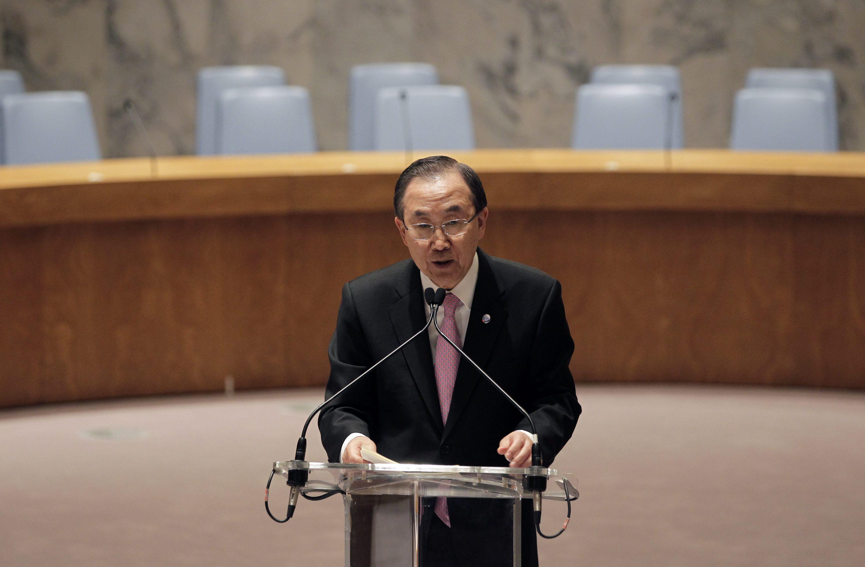 Ban Ki-moon dice que Asad ha cometido «muchos» crímenes contra la humanidad