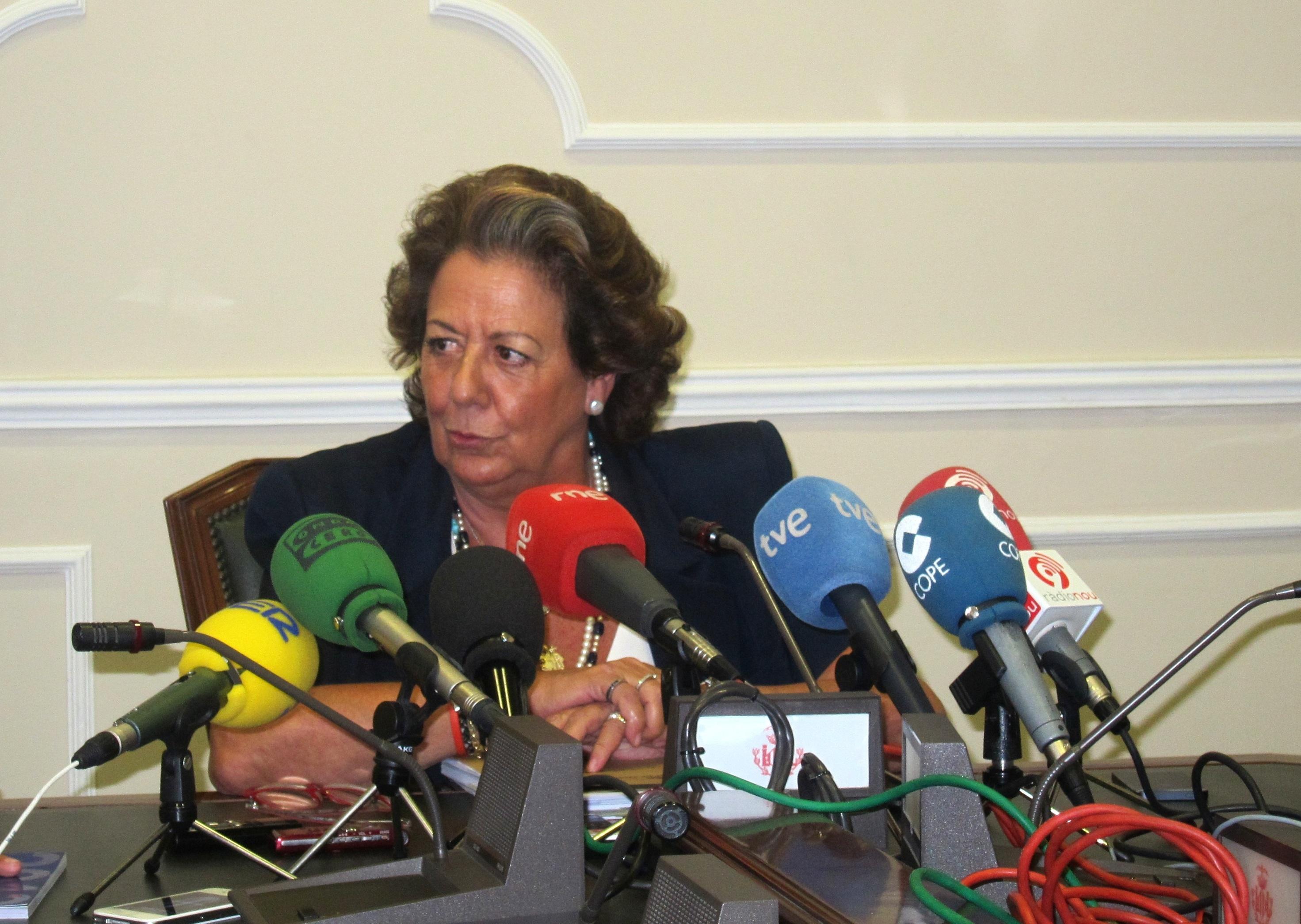 Barberá dice que el desarrollo de la Marina no se verá «atrasado ni parado» por no ser subsede olímpica