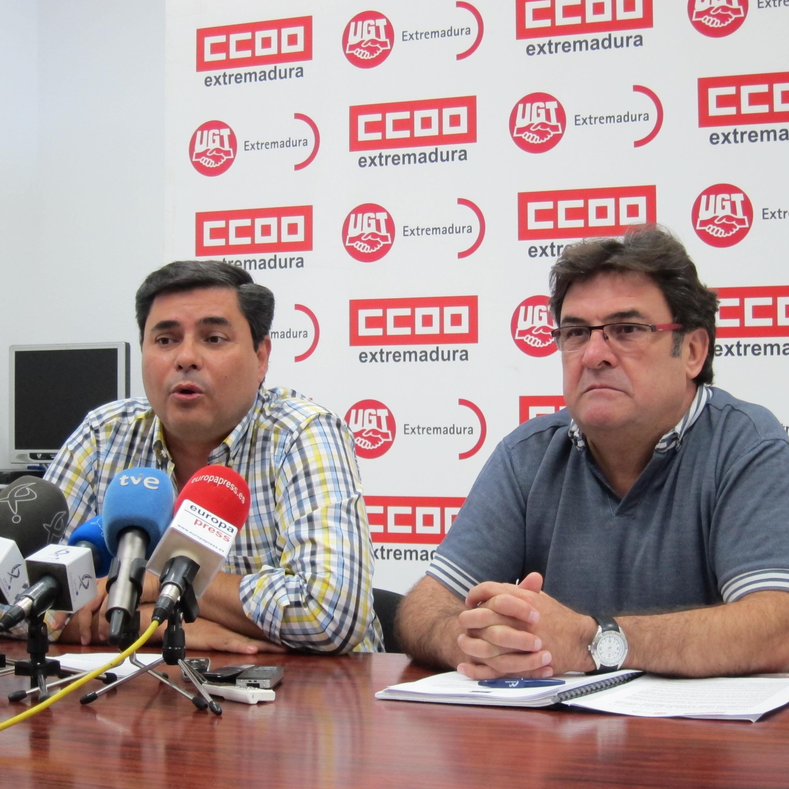 CCOO y UGT consideran que la directiva del tabaco «no tiene por qué» perjudicar a Extremadura si se «cambia» la PAC