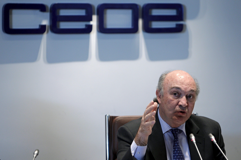 La CEOE pide al Gobierno que no incluya subidas de impuestos en los Presupuestos de 2014