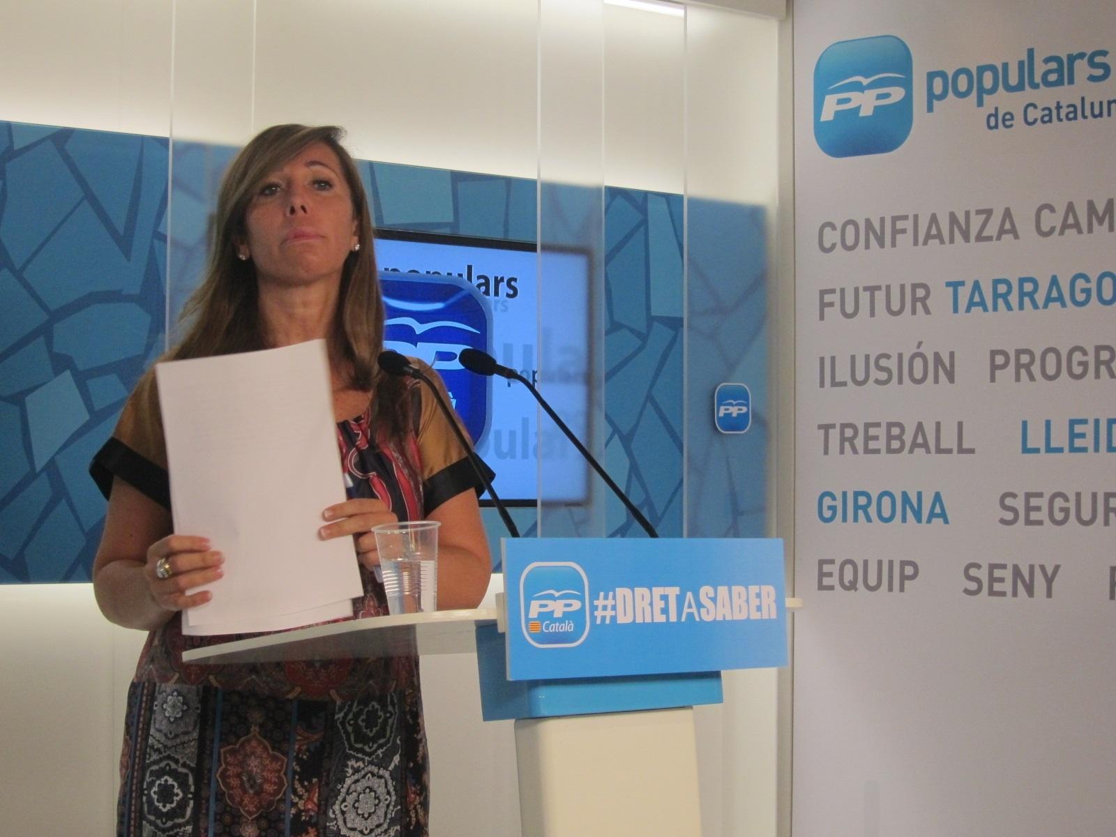 Camacho confía en que Rajoy convenza a Mas para «reconducir» la situación sin una consulta