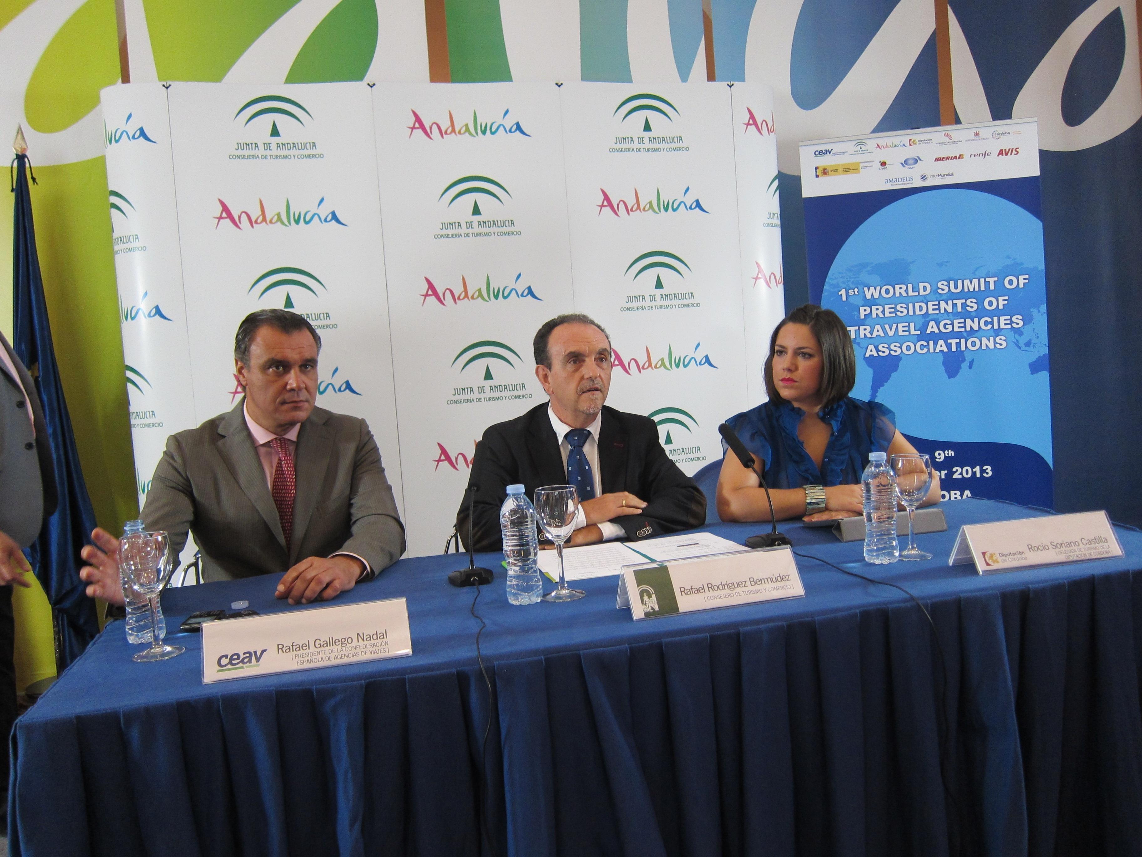 La I Cumbre Mundial de Agencias de Viaje debatirá en Córdoba los problemas del sector turístico