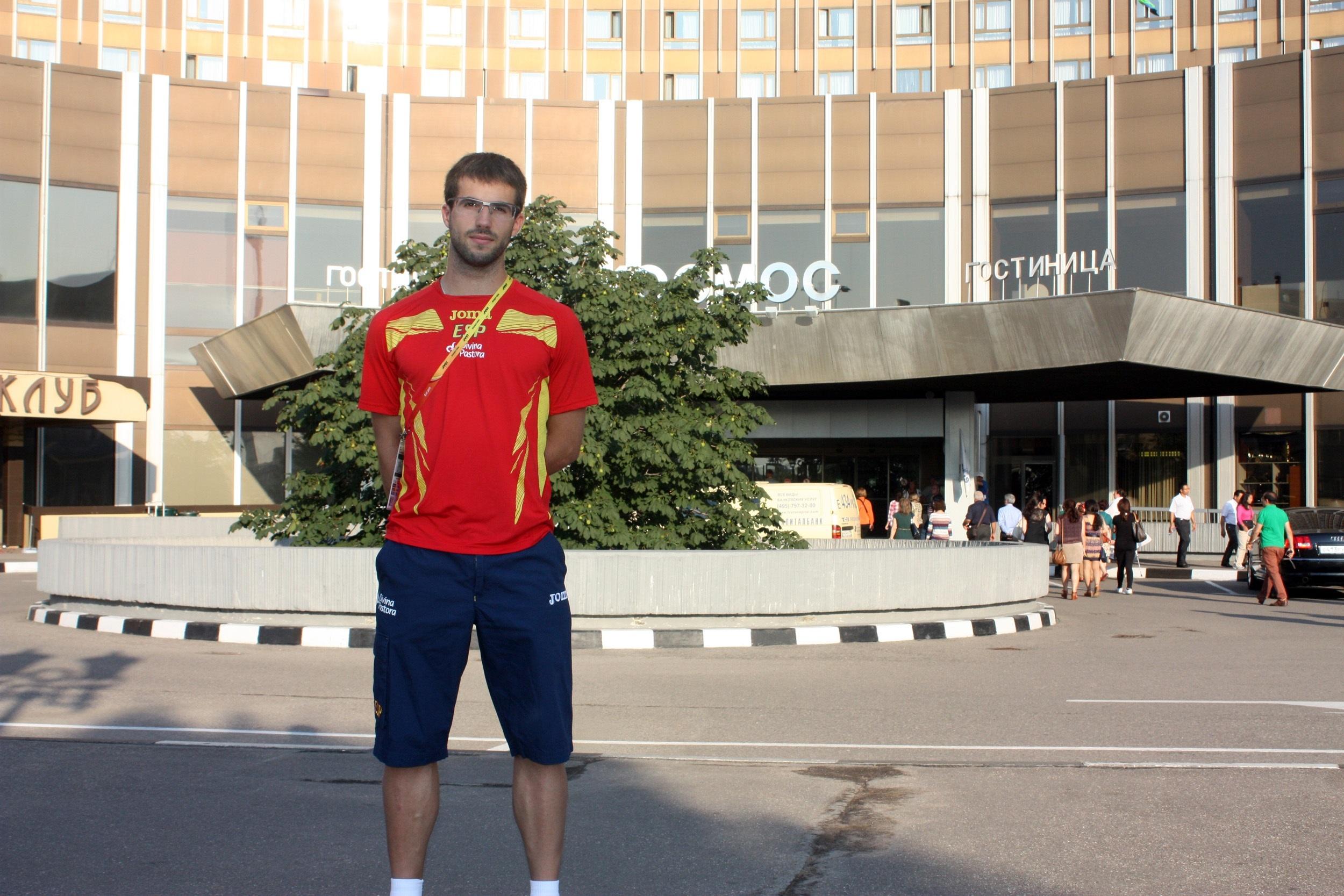 Eusebio Cáceres, nominado a »Atleta Europeo Revelación»