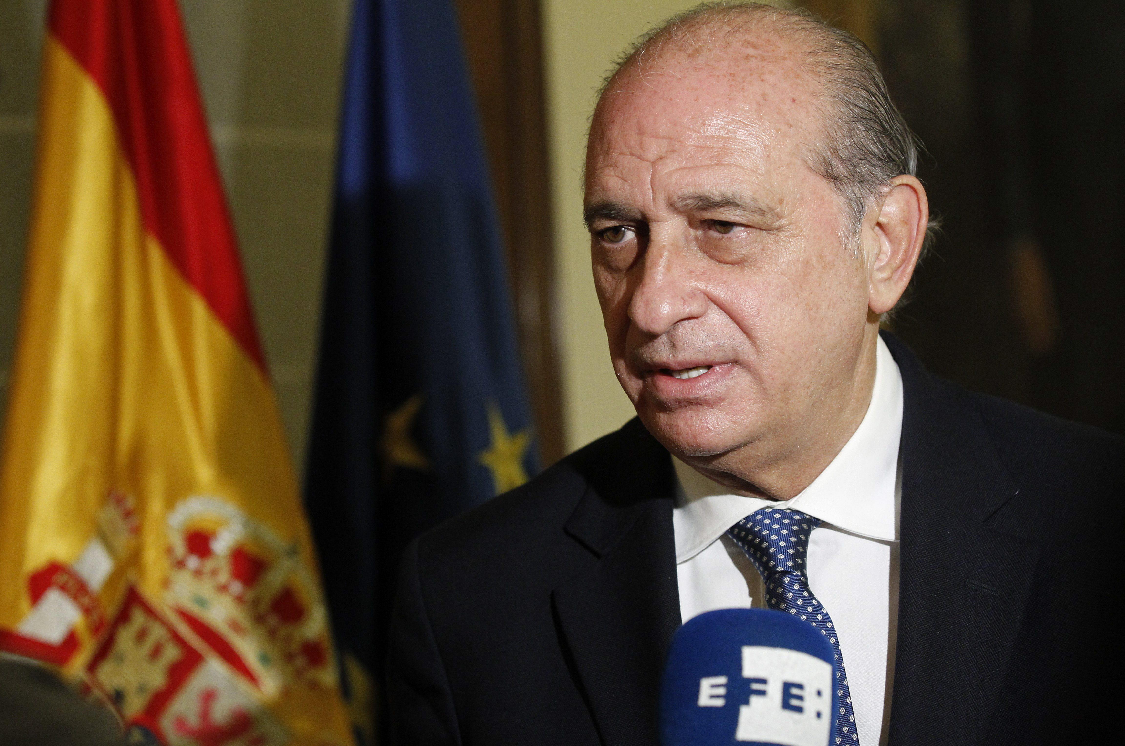 Fernández Díaz comparecerá en el Congreso para explicar el ataque a la Diada