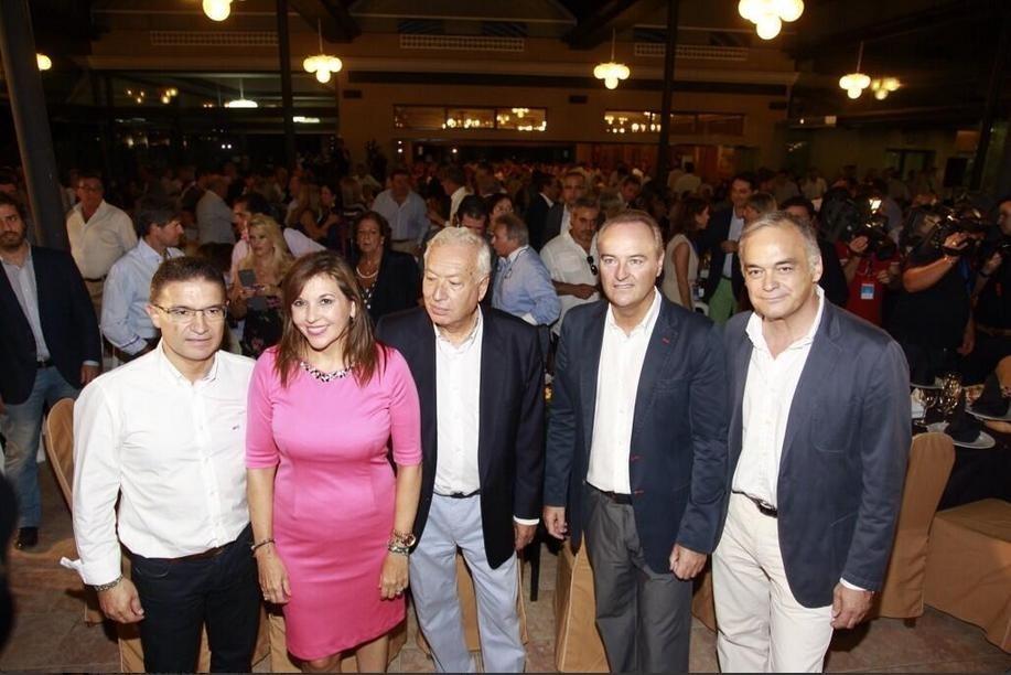 García Margallo a Fabra: «Te ayudaré con todas mis fuerzas a que la injusticia histórica de la financiación se repare»