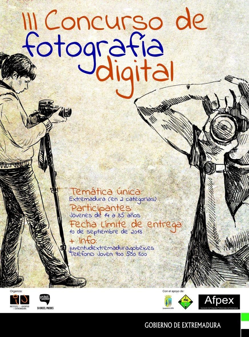 Más de 150 imágenes optan los galardones del III Concurso de Fotografía Digital del Instituto de la Juventud extremeño