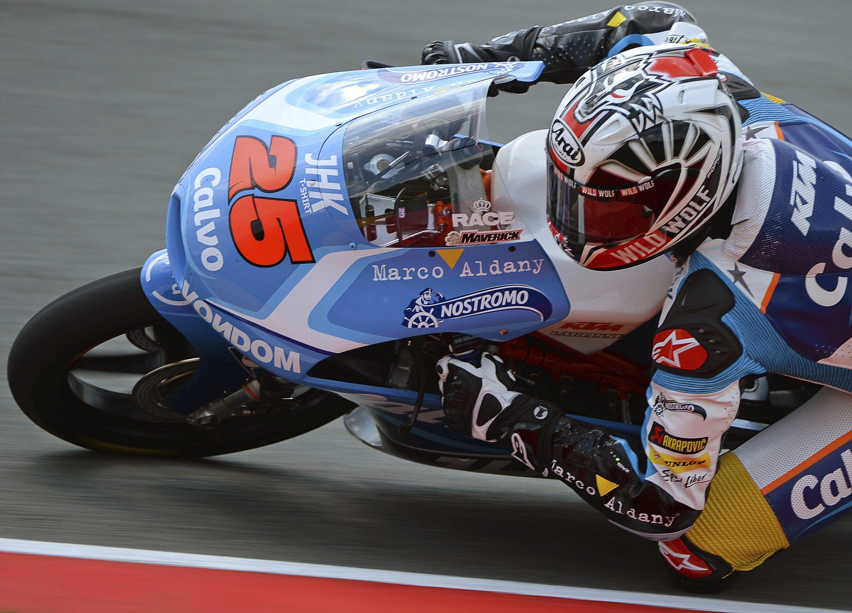 El español Alex Rins continuará un año más en su equipo de Moto3