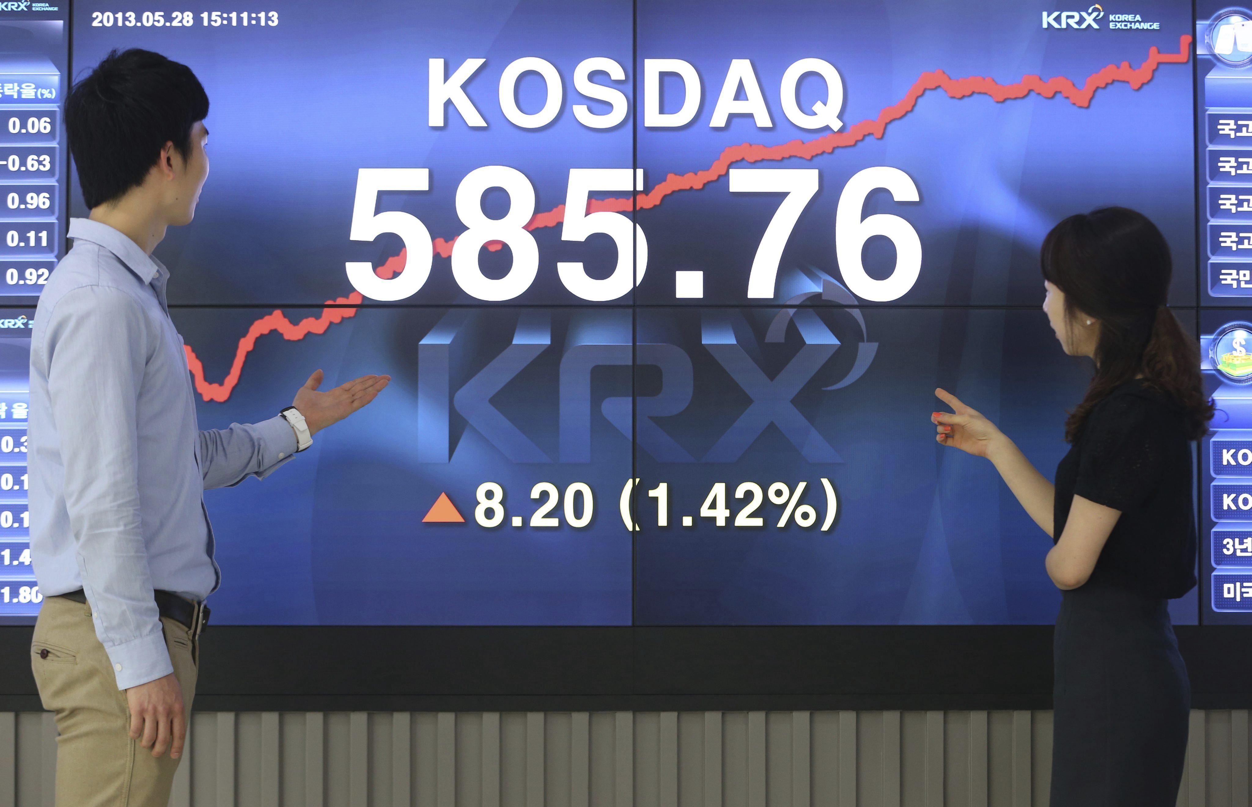 El Kospi pierde 9,11 puntos, un 0,45 por ciento, hasta 1.994,95 unidades