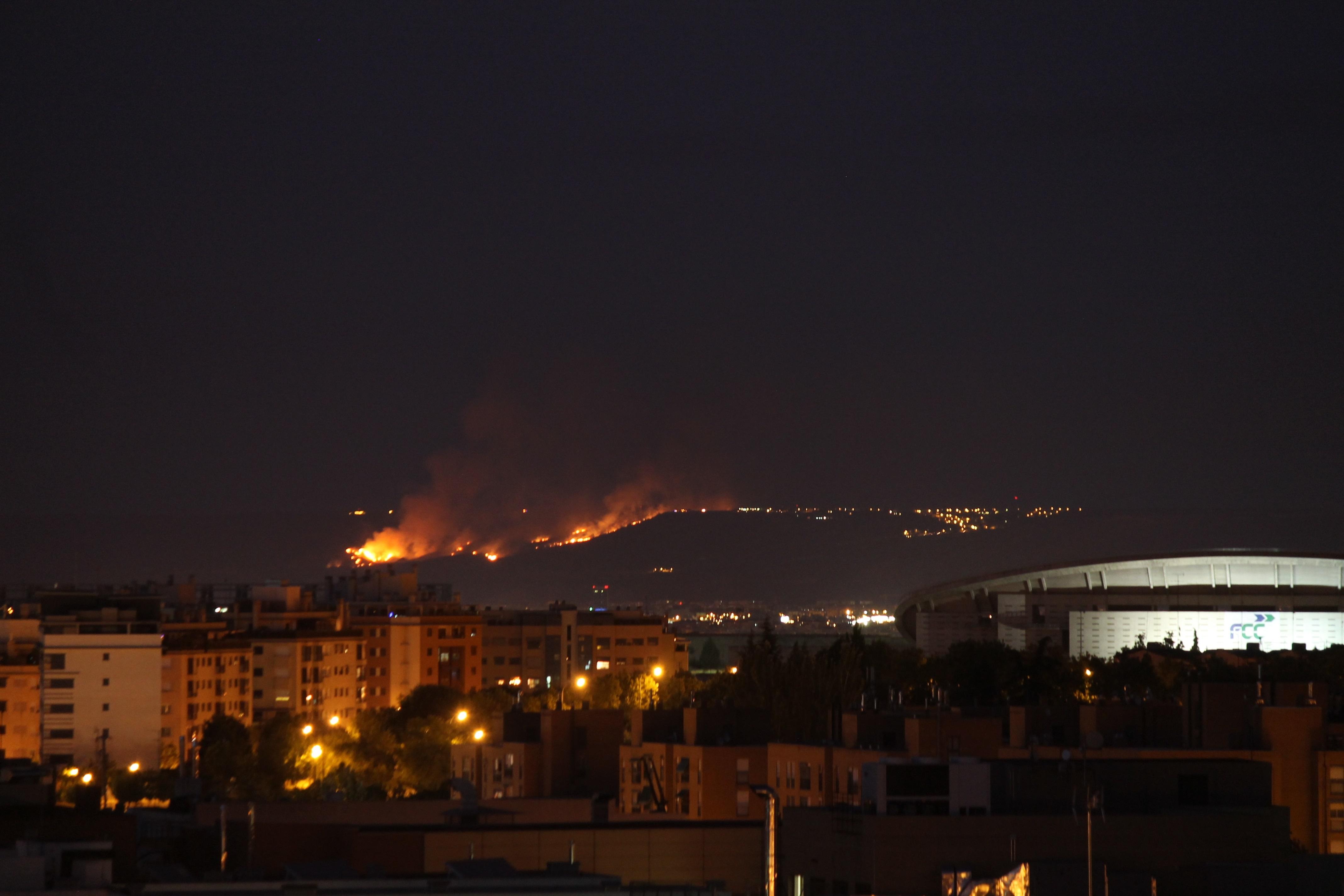 Madrid ha registrado 243 incendios este verano, el 80% conatos
