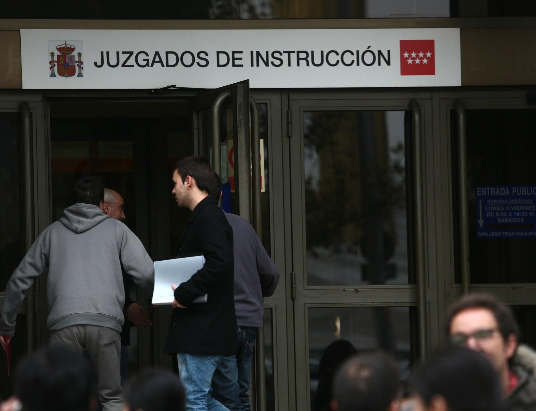 Once de los detenidos por el ataque a la sede de la Generalitat en Madrid pasan a disposición judicial