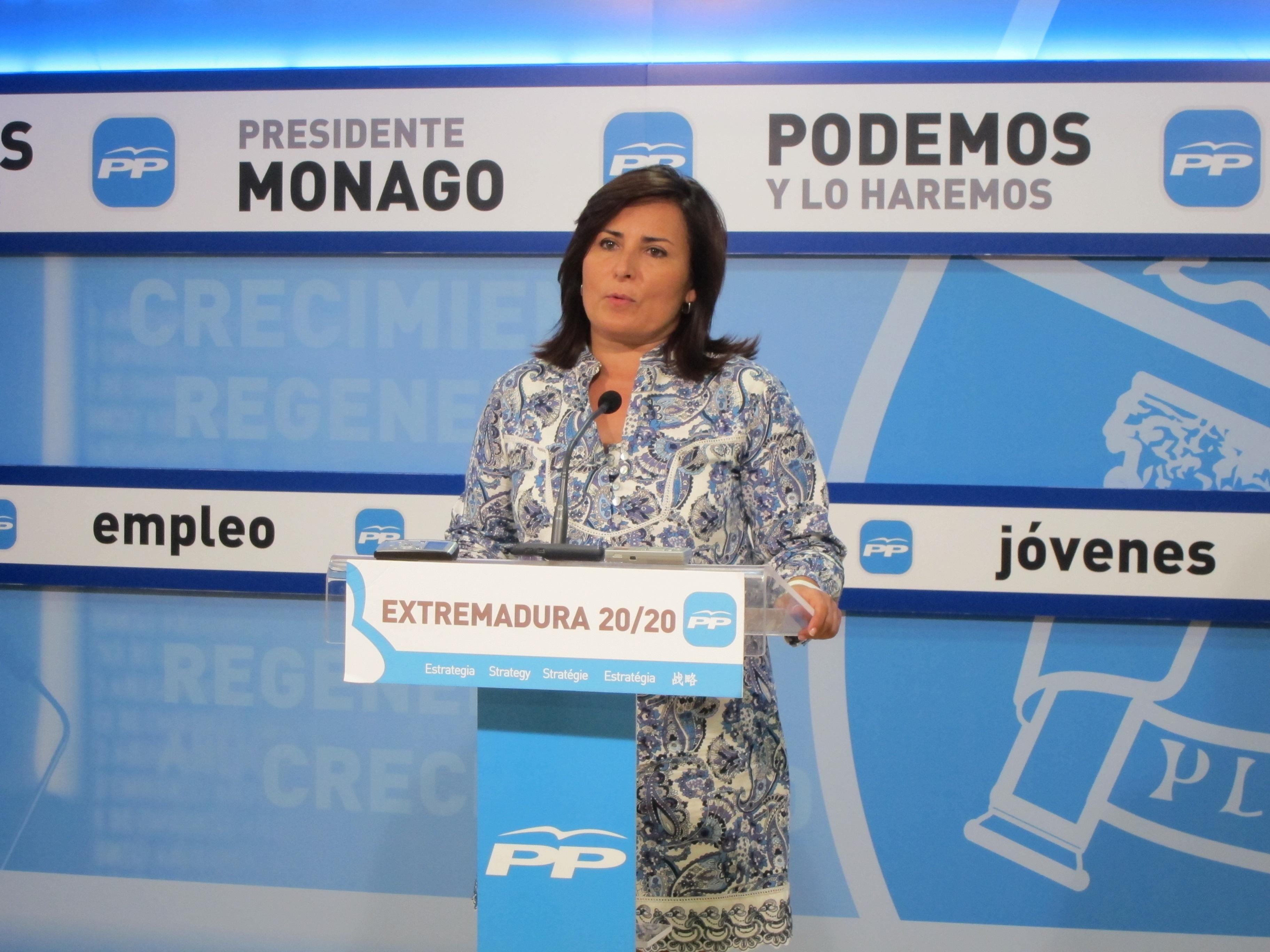 El PP avanza que los presupuestos de Extremadura en 2014 serán «expansivos» y «muy difícil» de rechazar por la oposición