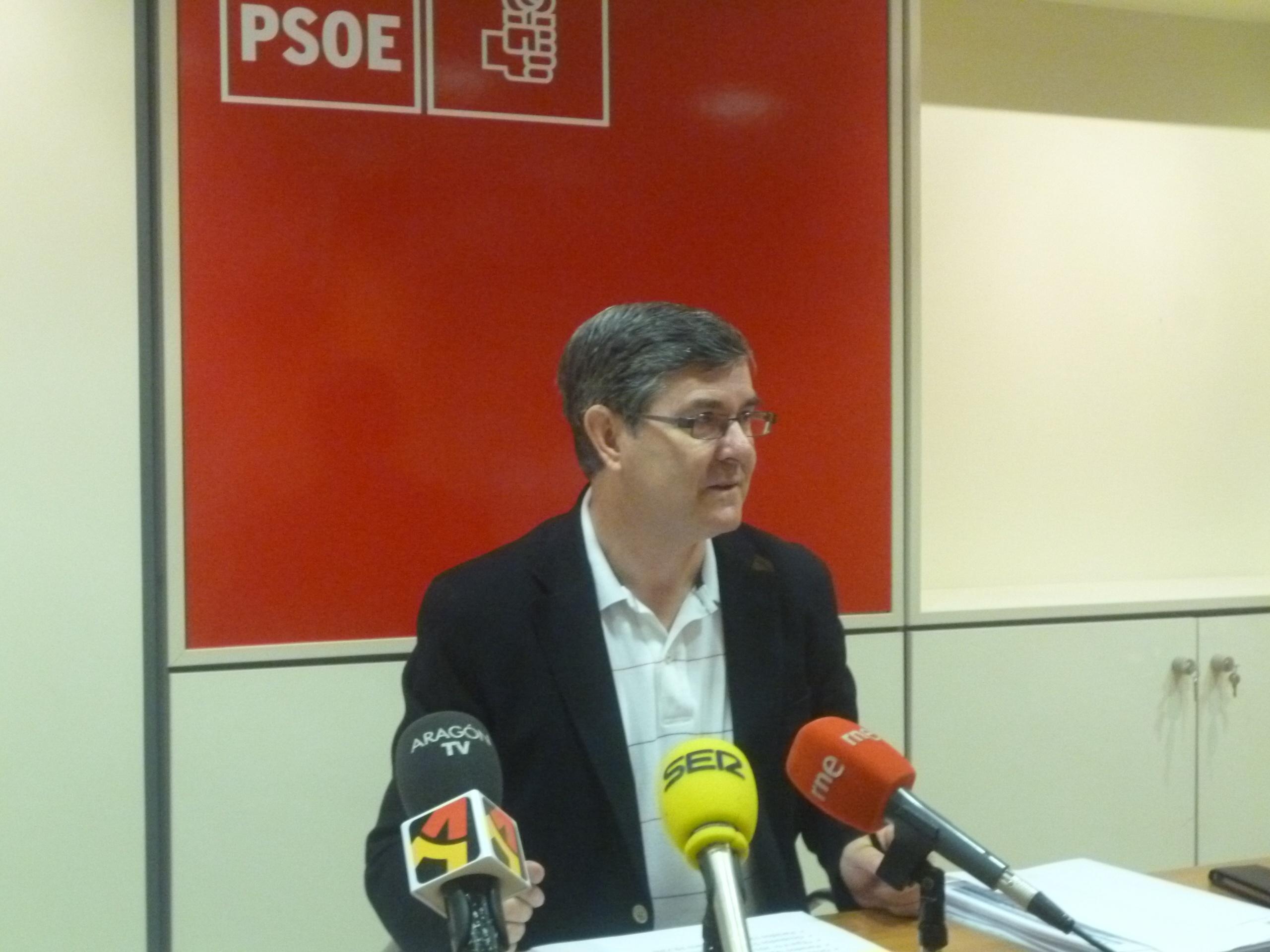 El PSOE acusa al Gobierno de «abocar al deterioro económico» a la provincia de Teruel