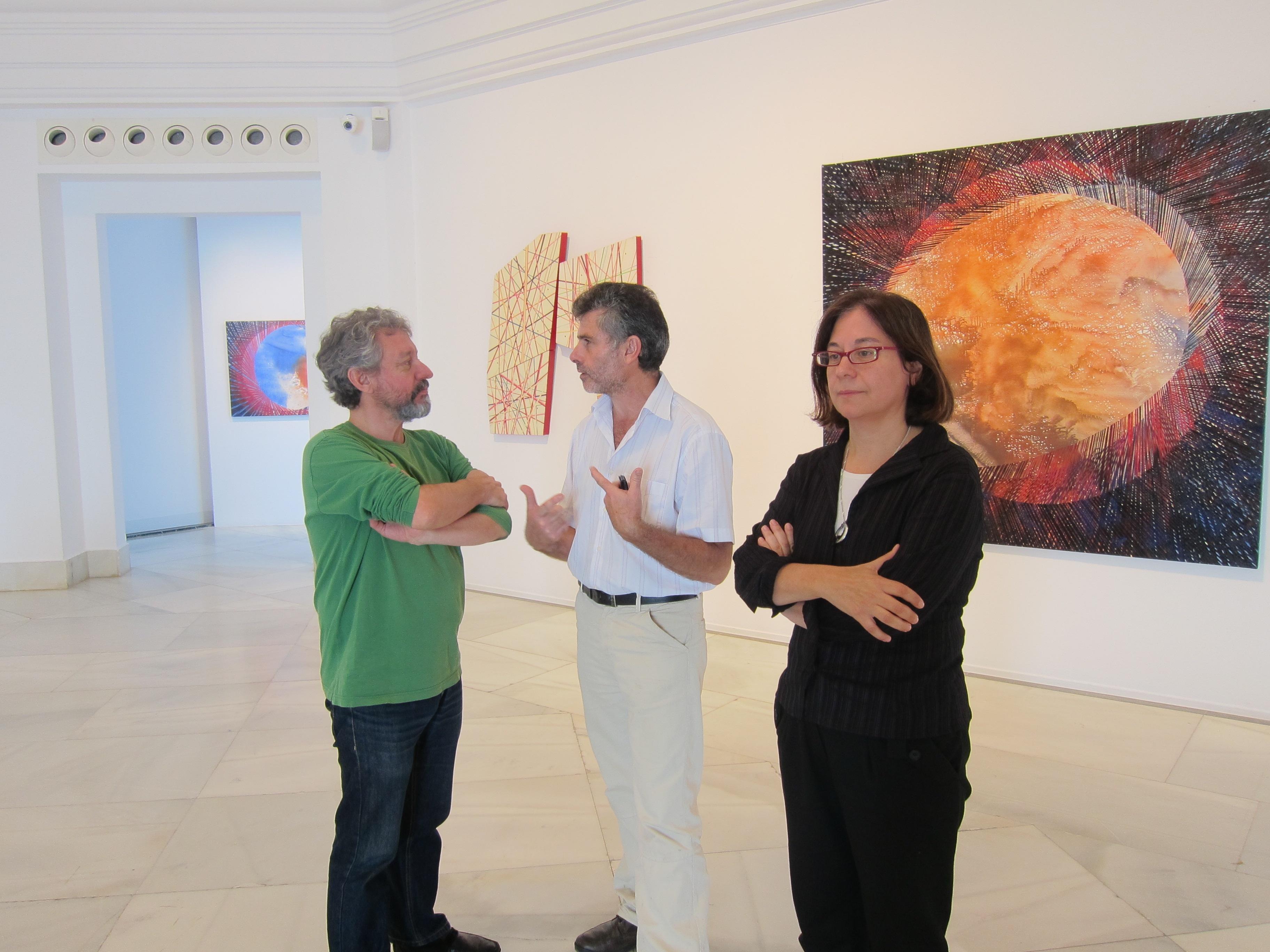 El Palacete del Embarcadero acoge una exposición de Martín Carral y Carmen Anzano