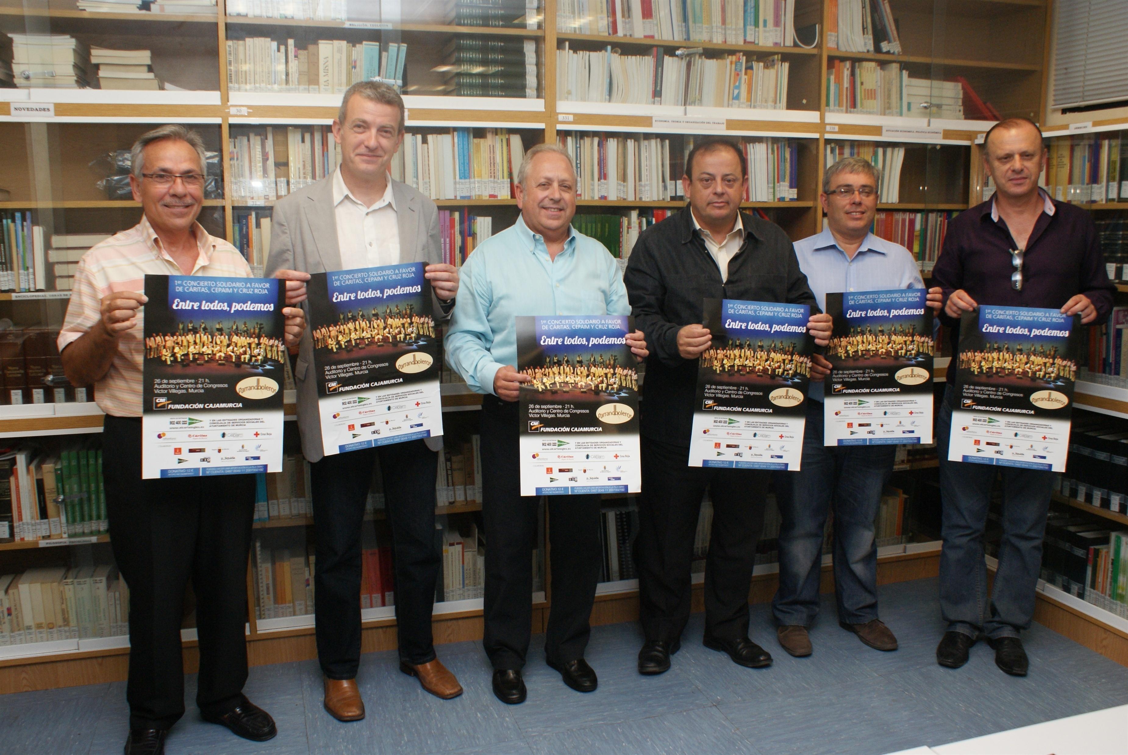 La Plataforma Social de la UMU y Fundación Cajamurcia promueven un concierto a beneficio de Cáritas, Cruz Roja y CEPAIM