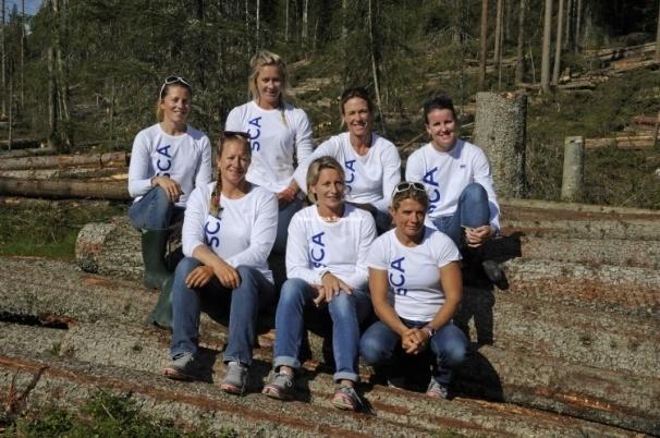 El Team SCA elige a la australiana Stacey Jackson y Abby Ehler