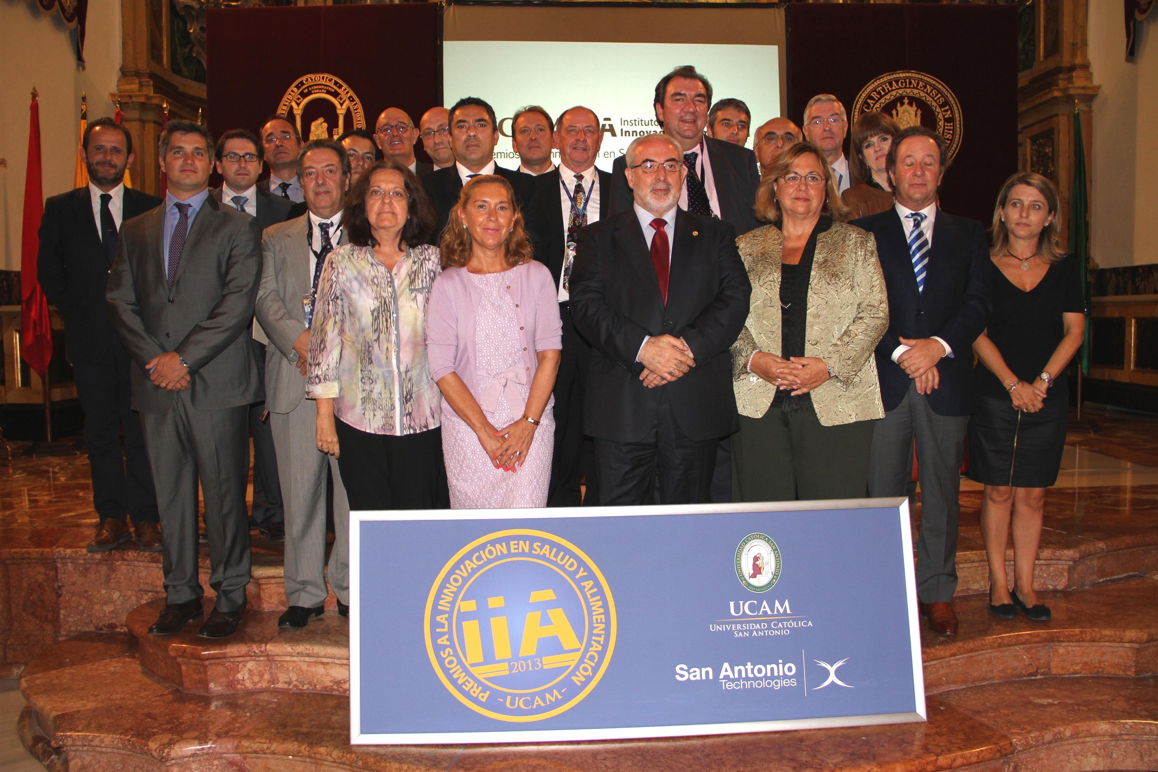 La UCAM entrega los II Premios a la Innovación en Salud y Alimentación