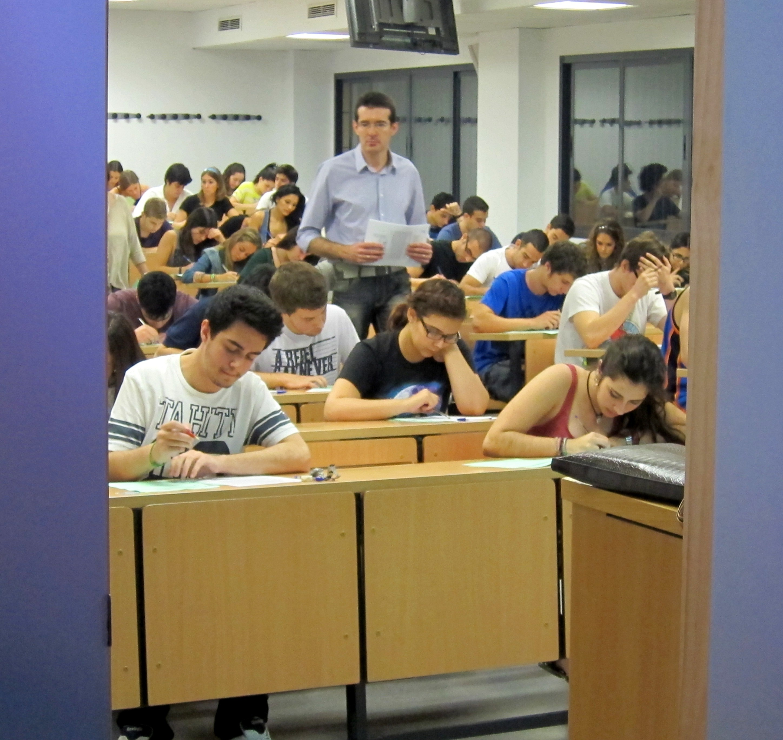 Un total de 10.478 alumnos andaluces se examinan a partir del lunes de la segunda fase de Selectividad