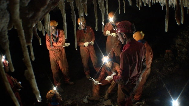 La ESA imparte a sus astronautas formación subterránea en cuevas para aprender a explorar zonas oscuras y desconocidas