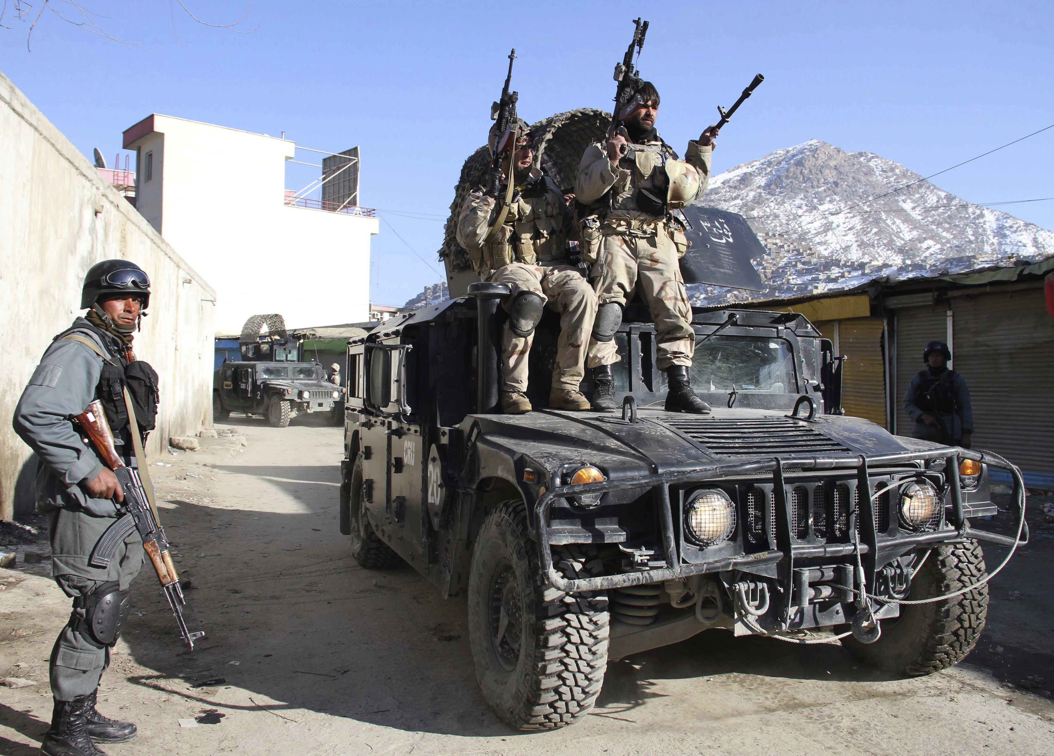 Mueren todos los atacantes del consulado de EEUU en Herat