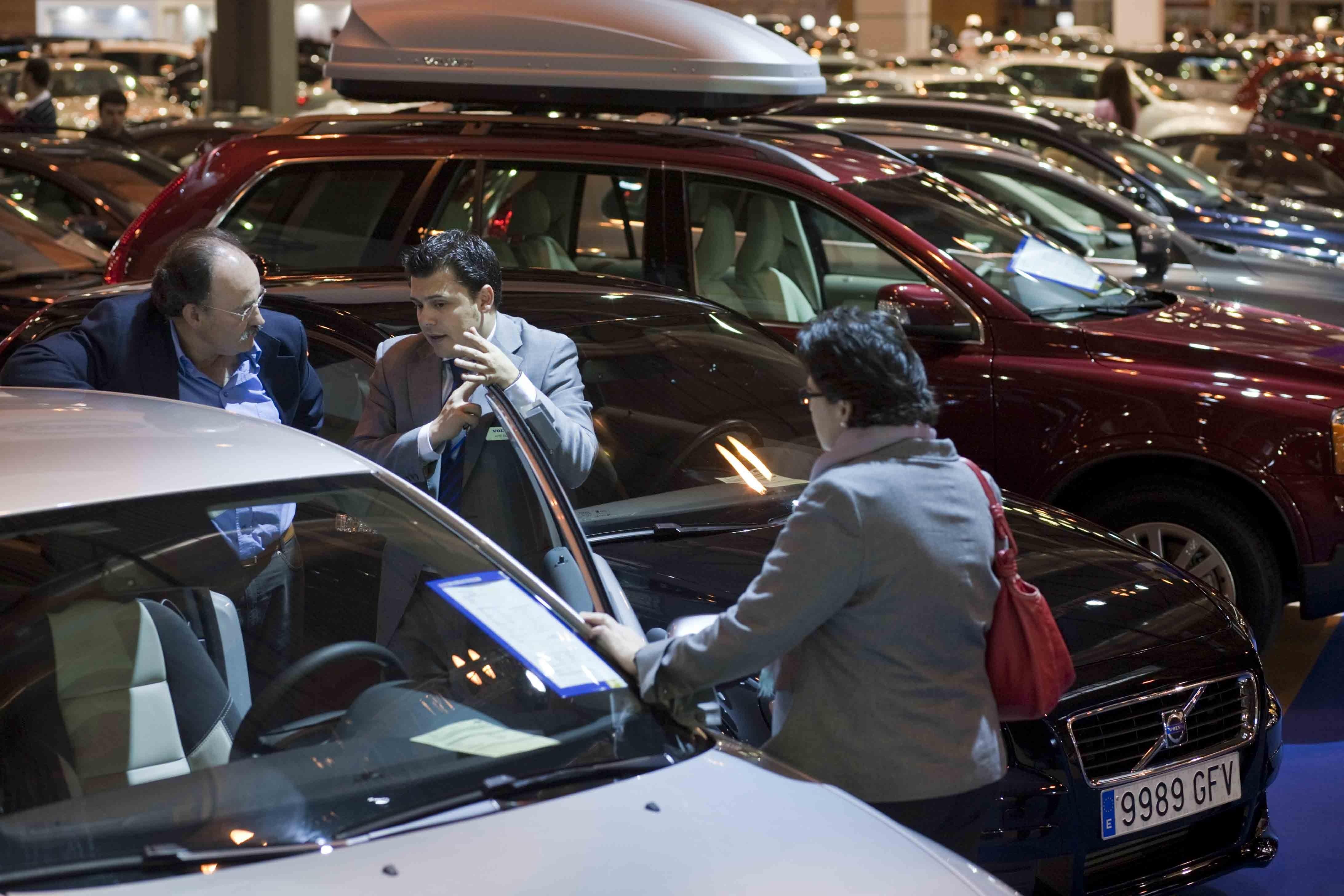 Las ventas de coches usados en Andalucía crecen un 1,8% hasta agosto, según Ganvam