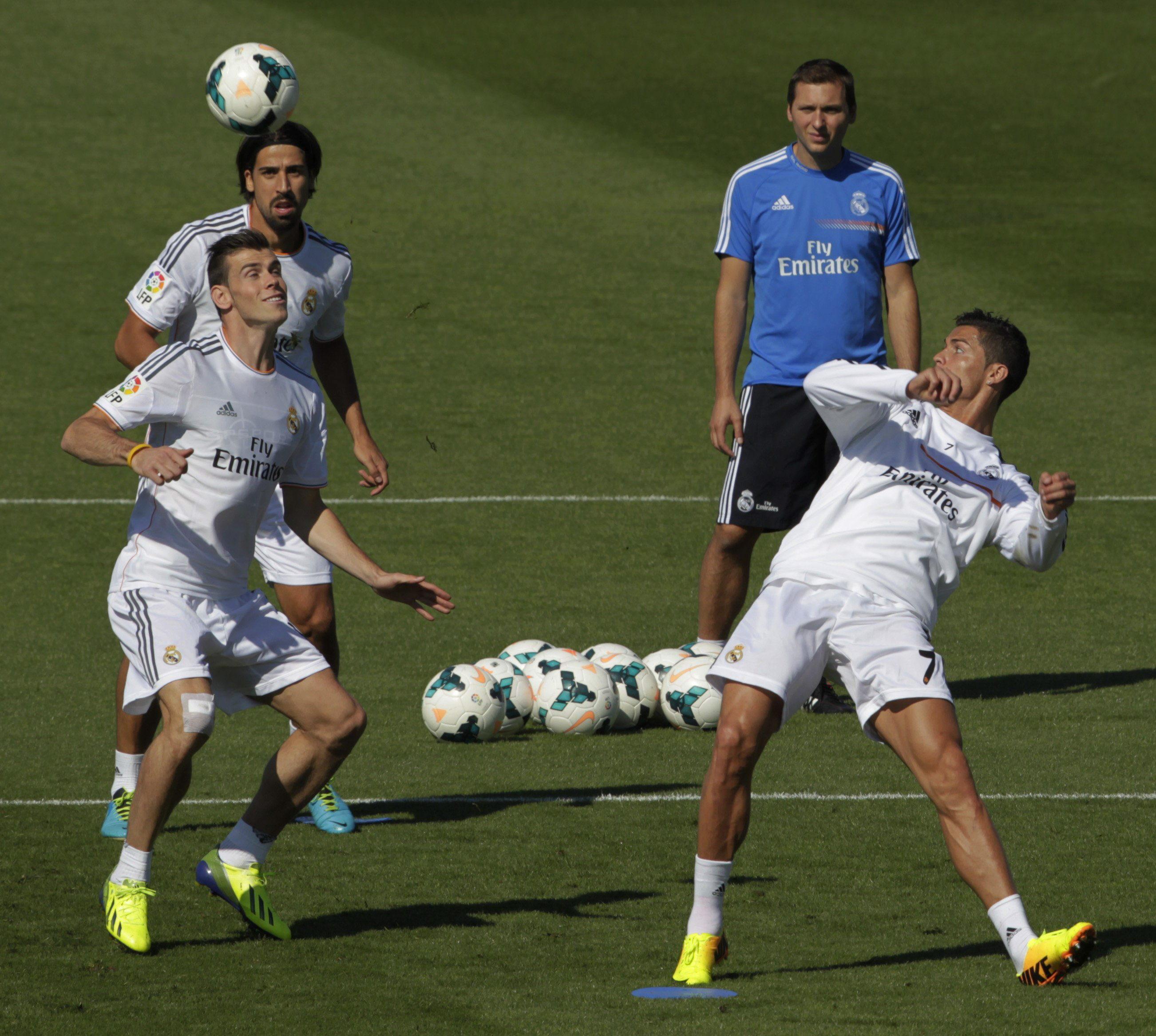 Bale, gran novedad del Real Madrid ante el Villarreal