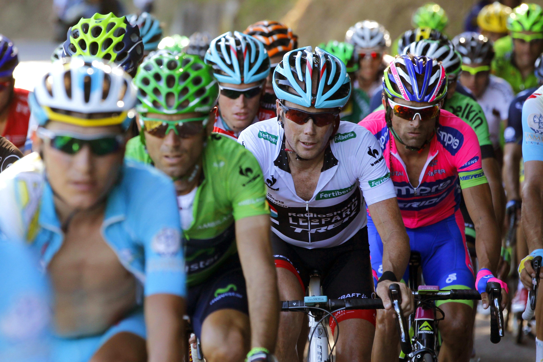 Valverde ha acabado «contento» con el «otro podio en la Vuelta»