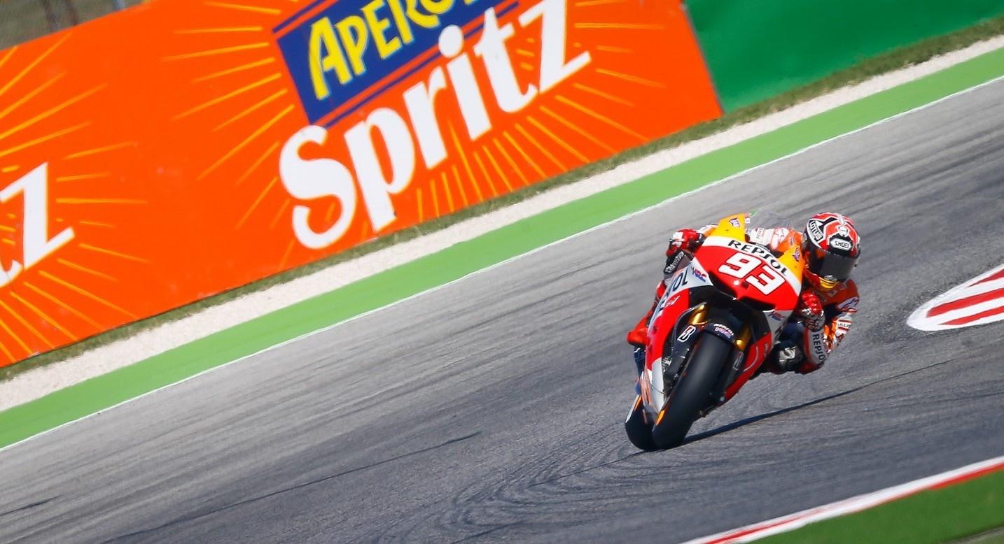 Márquez, sin límite, logra la »pole» y el récord del circuito