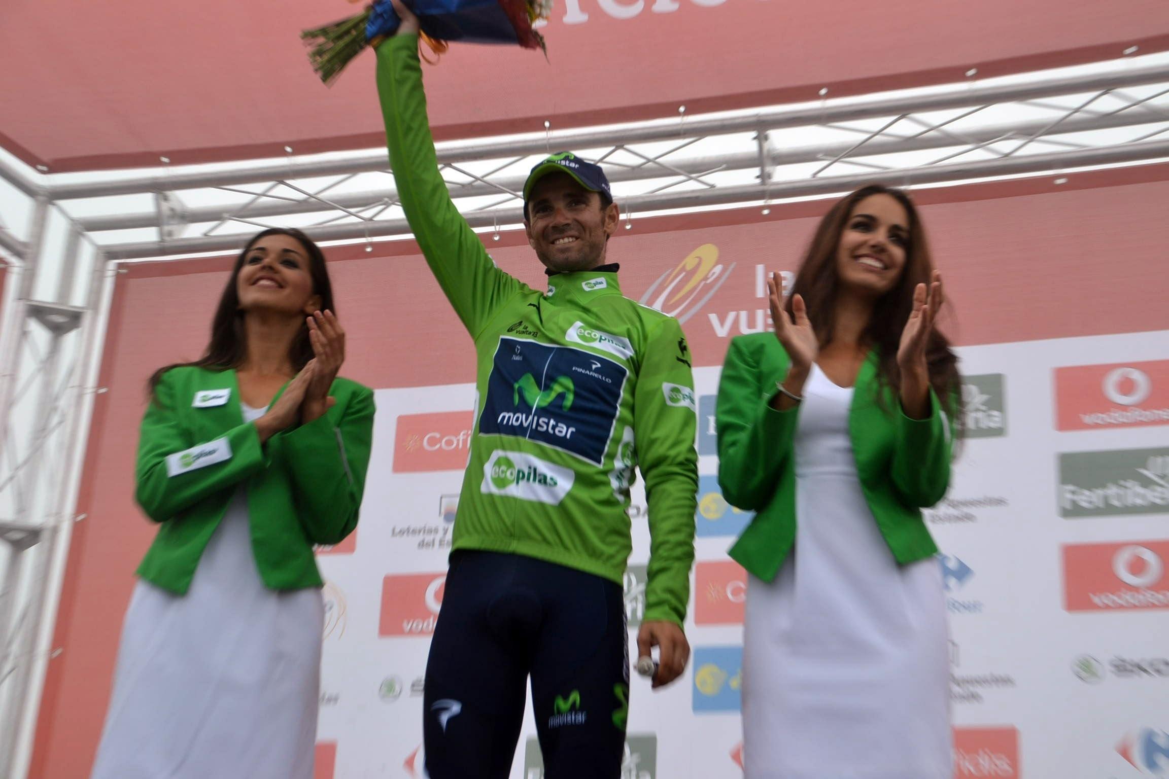 Valverde (Movistar): «Hay que estar contentos; es otro podio en La Vuelta a España»