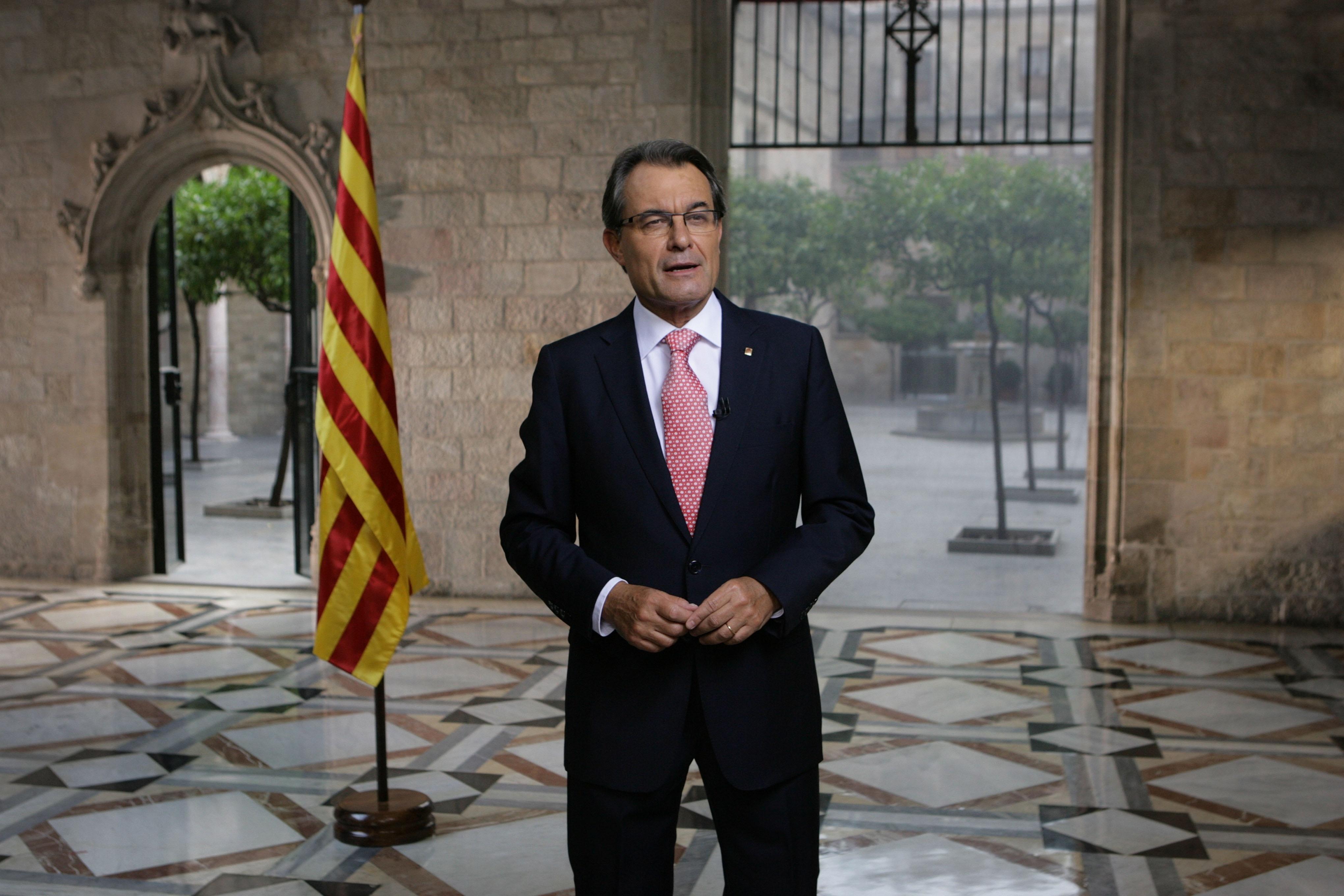 Mas buscará una respuesta unitaria de los partidos al »no» de Rajoy