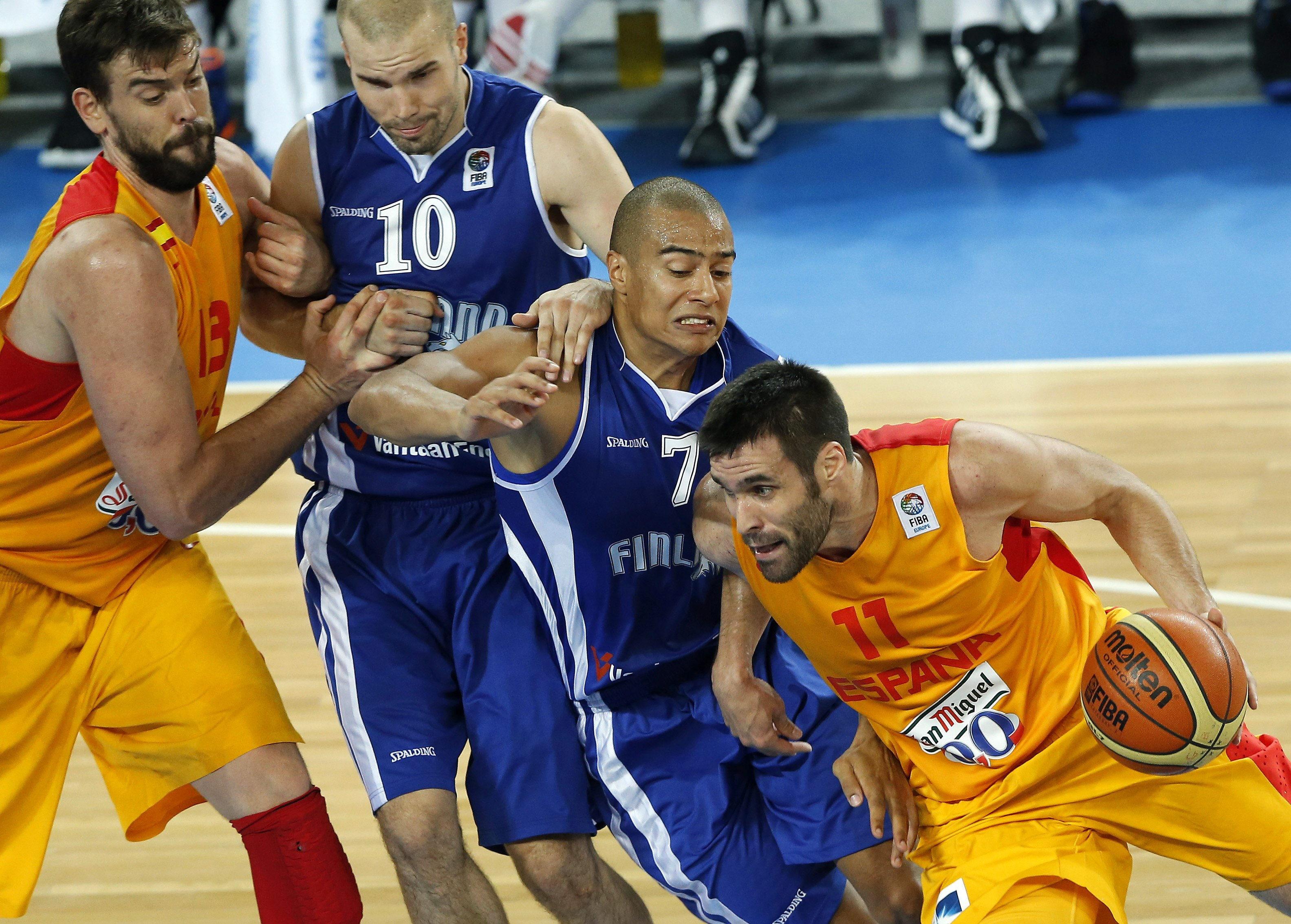82-56. La selección española consigue una victoria imprescindible ante Finlandia