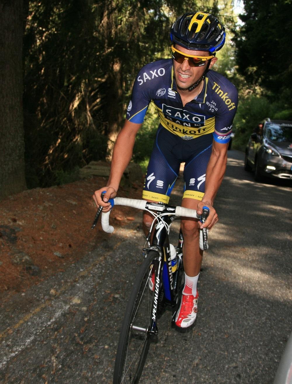 Alberto Contador confirma que correrá La Vuelta el año que viene