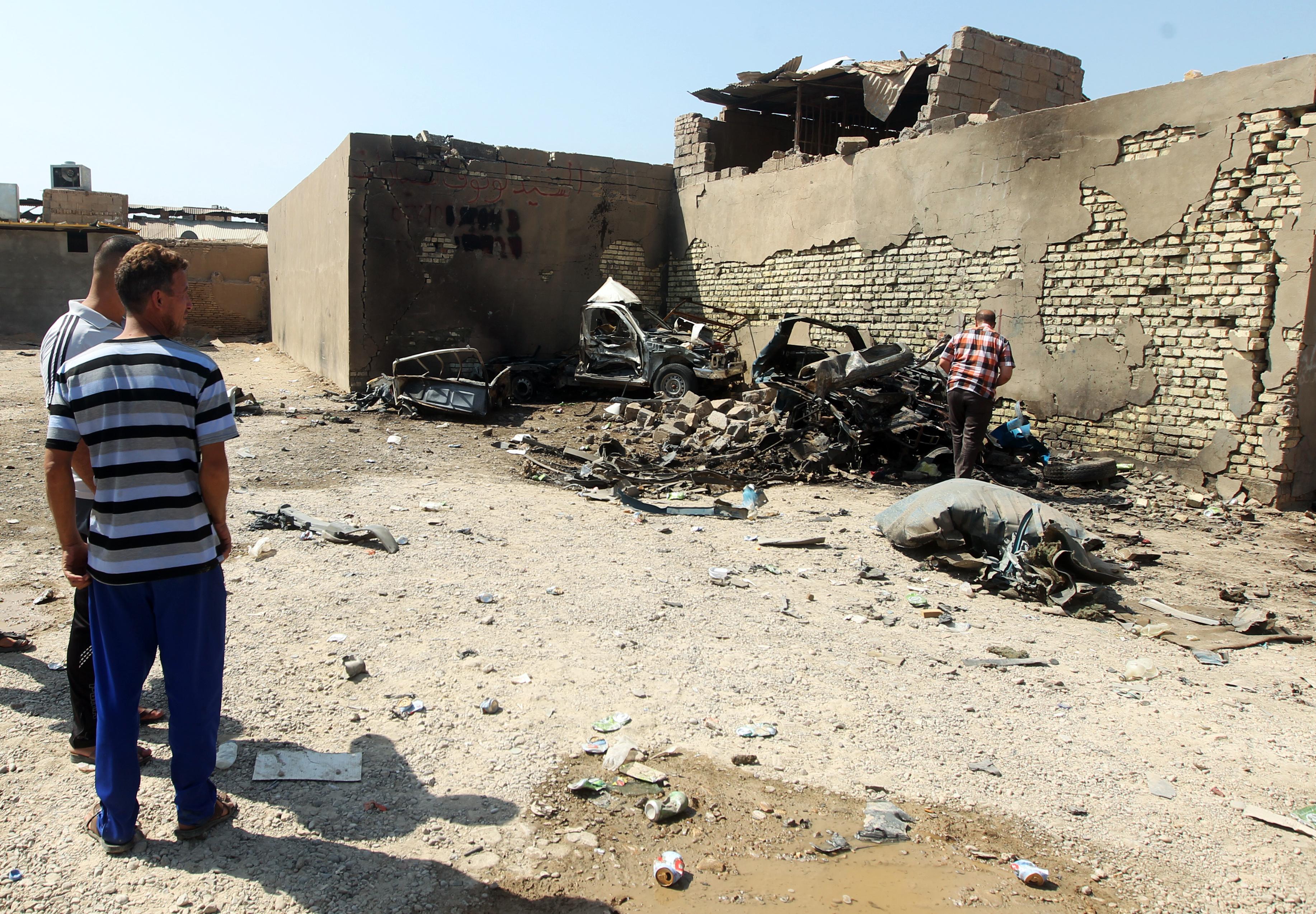 Al menos 46 muertos en una nueva ola de atentados con conches bomba en Irak