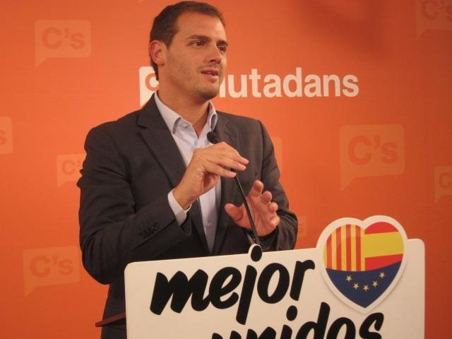 C»s pide a Rajoy un plan que vertebre España y frene el «separatismo y populismo»