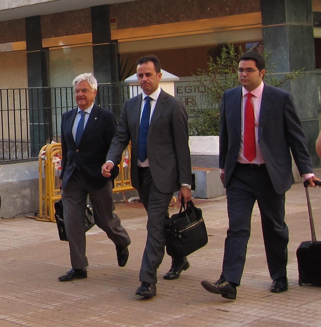 El empresario Manuel García Gallardo declara como imputado ante la juez del »caso Quality Food»