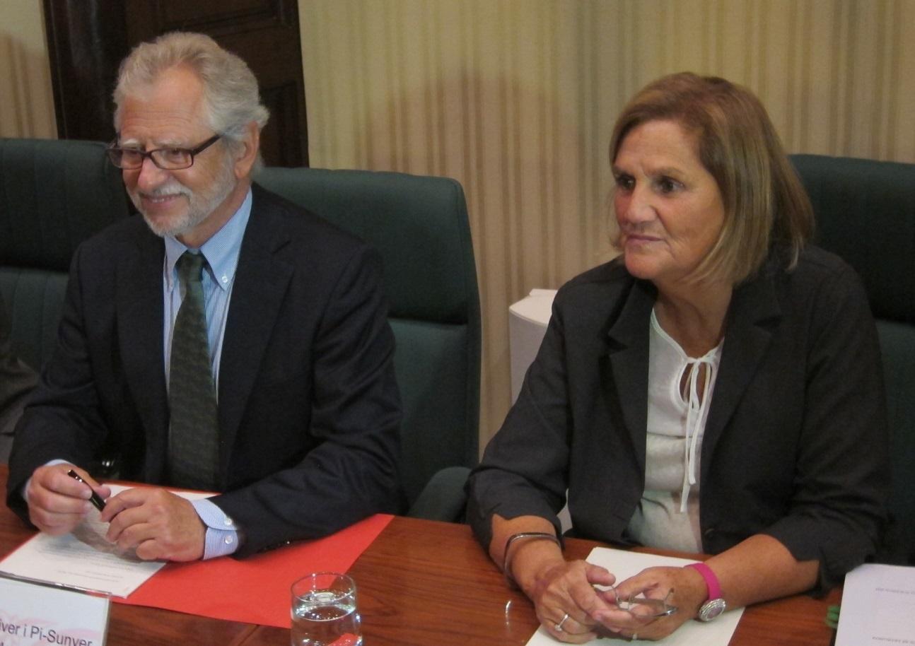 Pi-Sunyer avisa de que Europa no verá en la carta de Rajoy un 'no' a la consulta