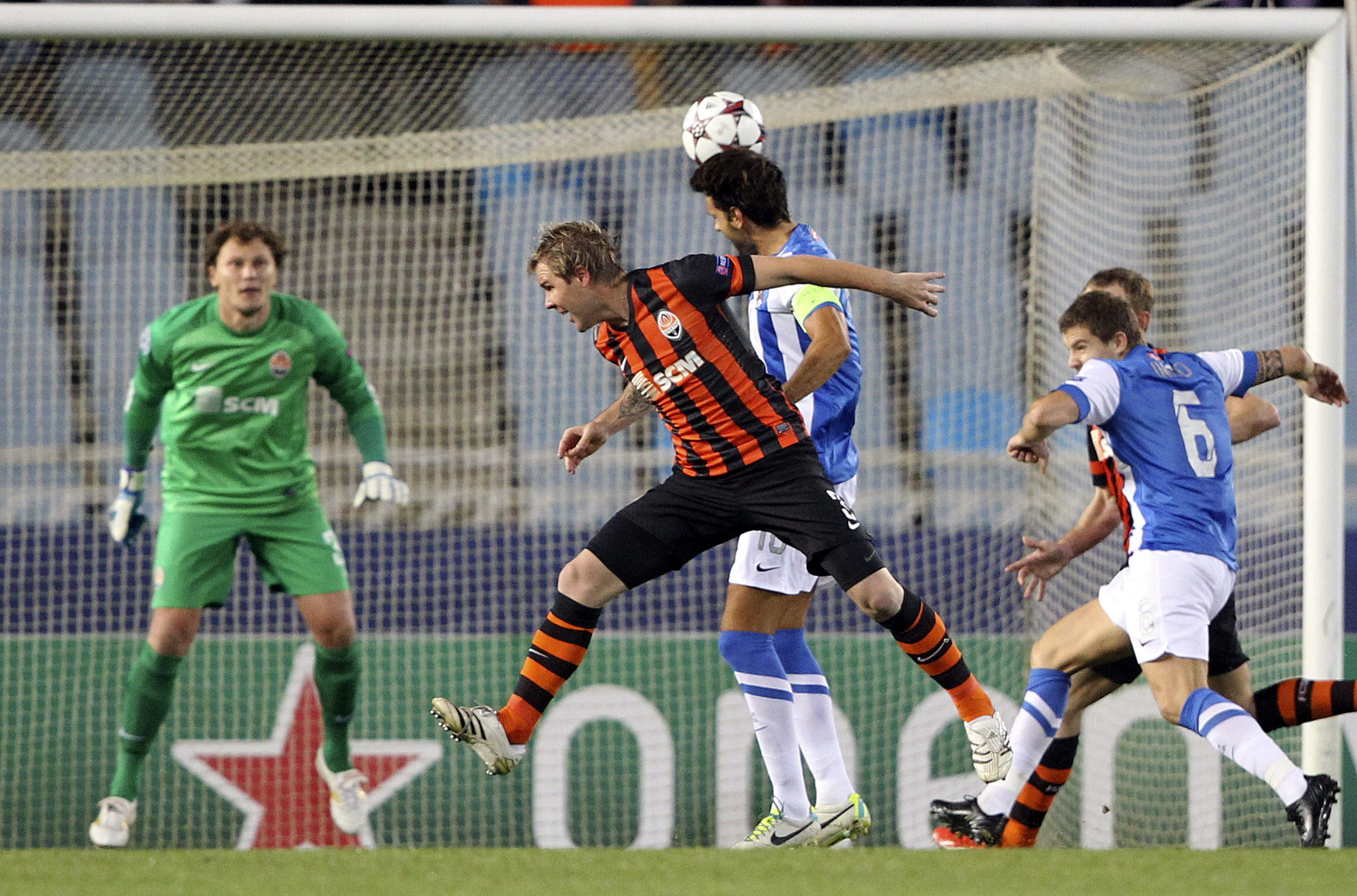 La Real puso el juego y Teixeira los goles para la victoria del Shakhtar