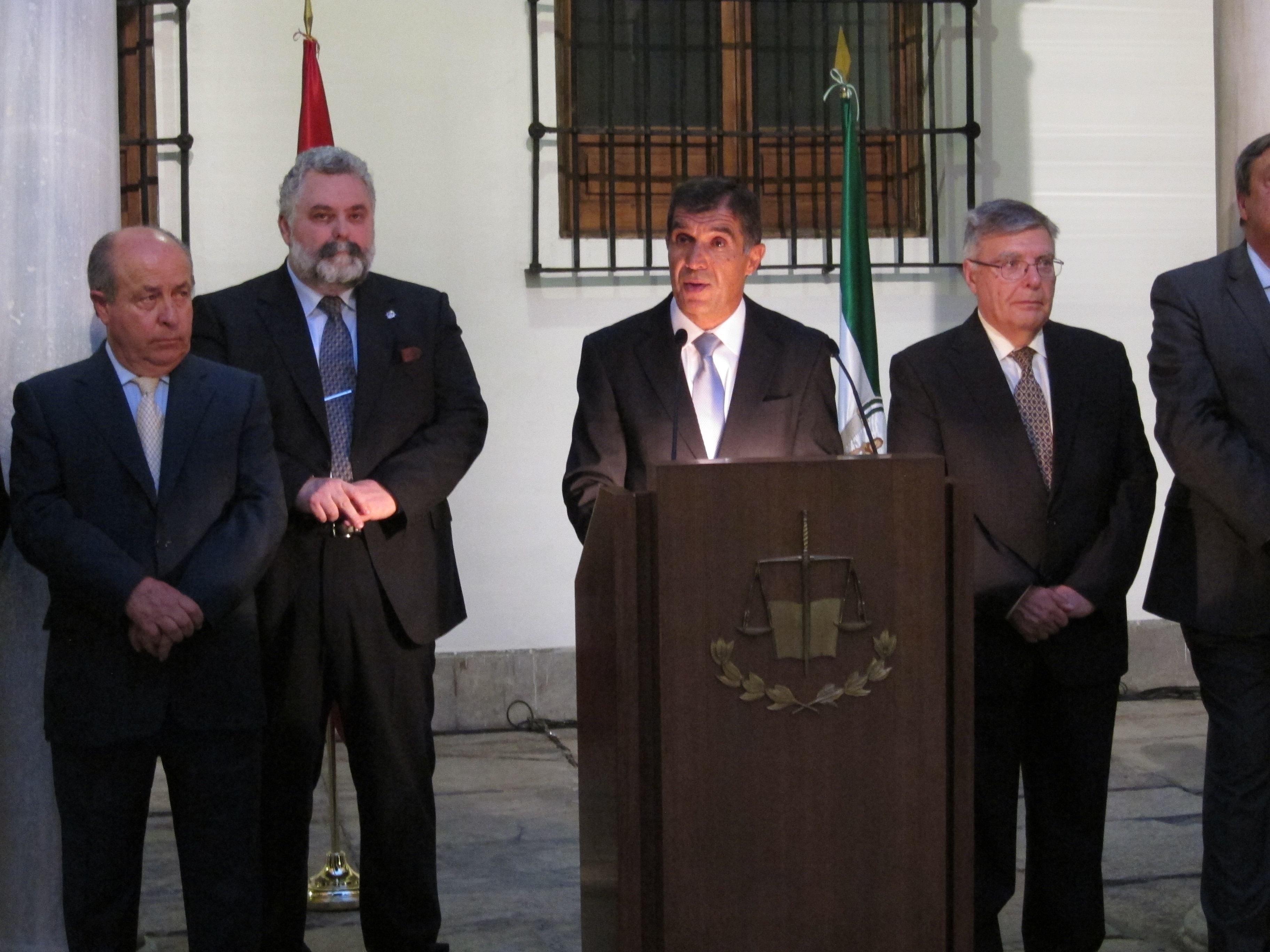 Del Río recuerda a los políticos que la justicia «no es un lujo» y les pide «un impulso de alto nivel»