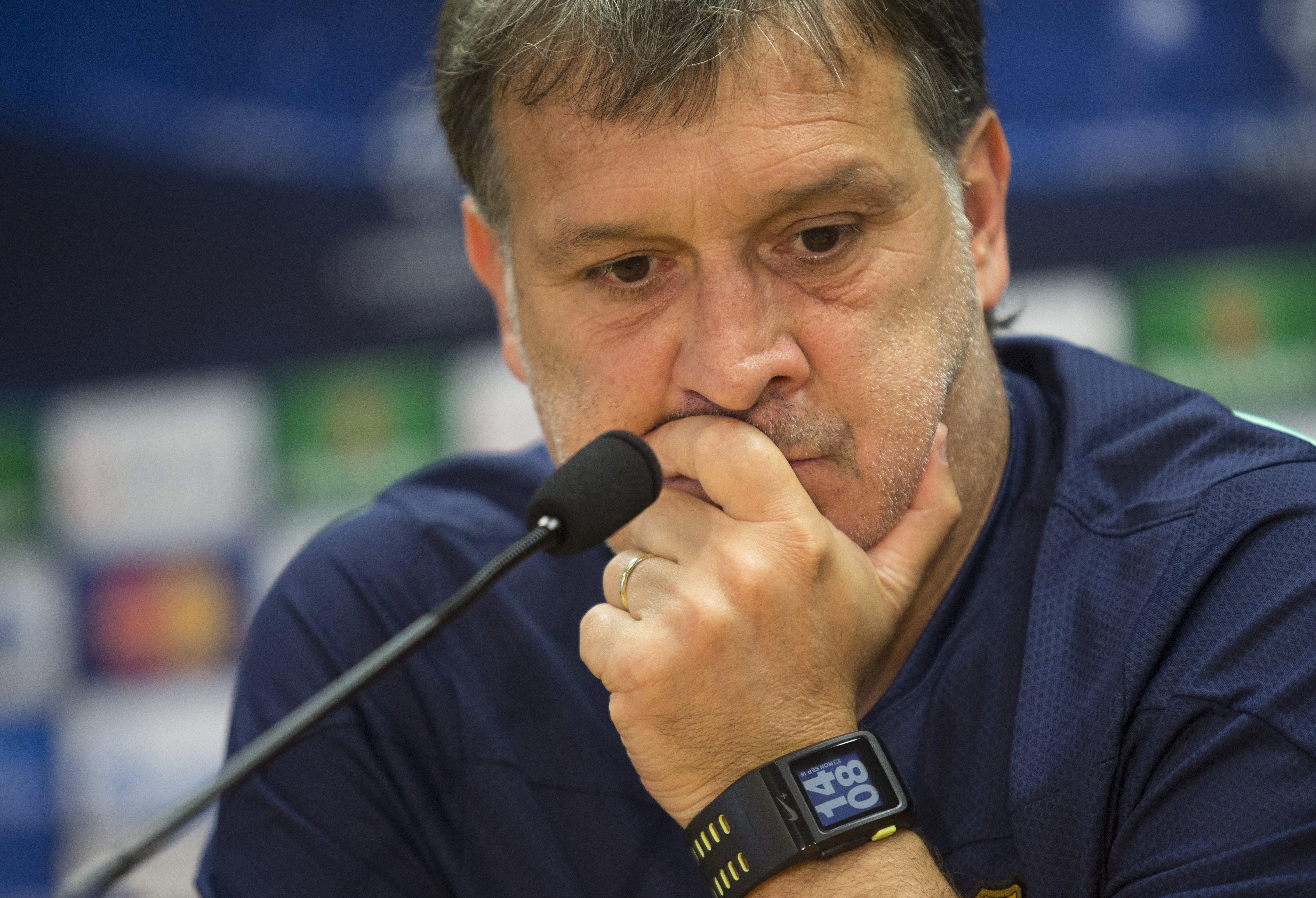 Fallece el padre del »Tata» Martino, que viajará a Argentina después del Ajax
